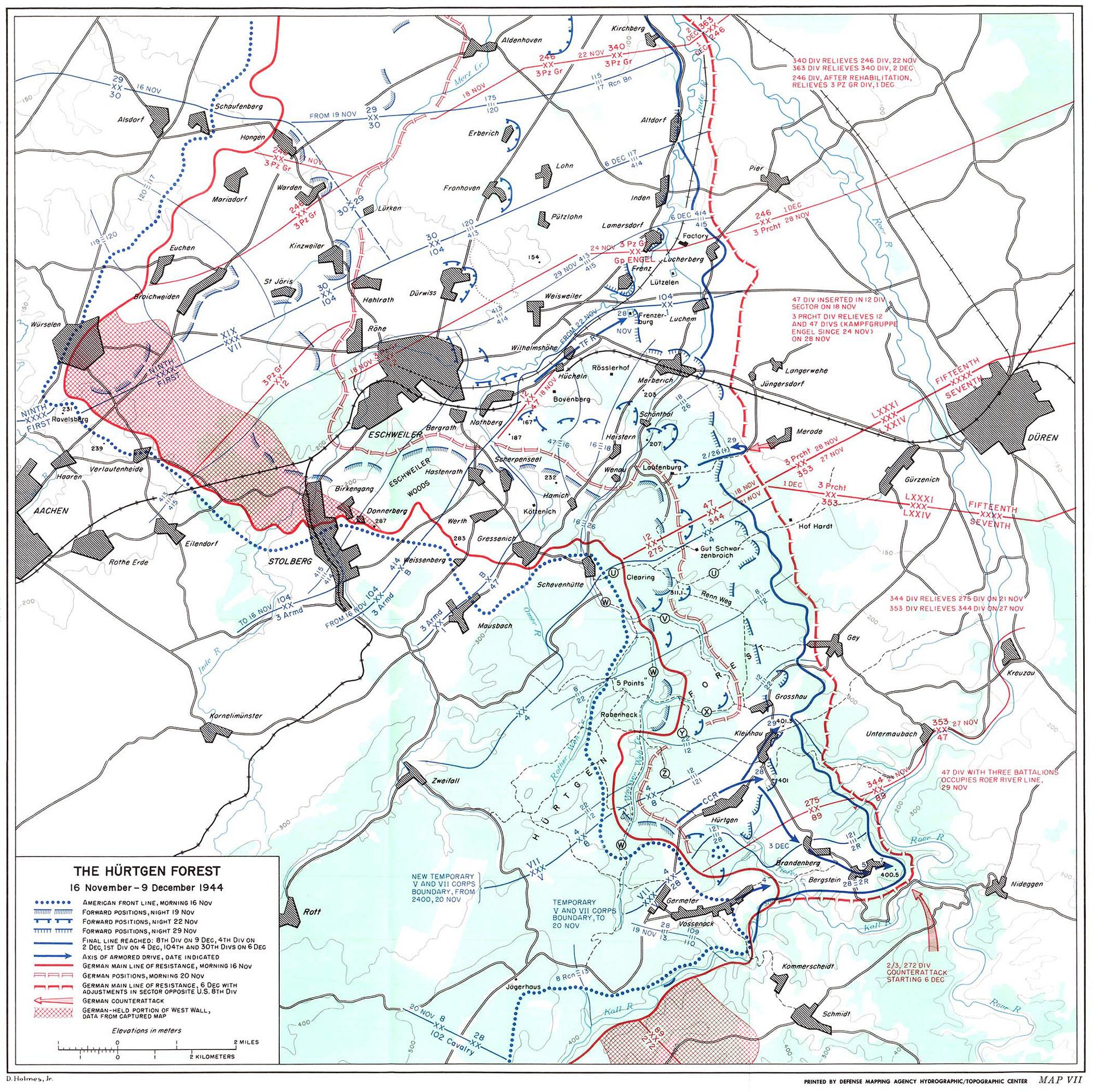 HyperWar: The Siegfried Line Campaign