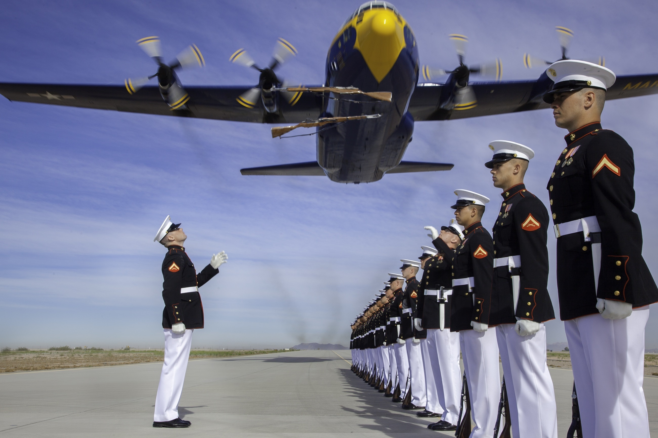 Silent drill platoon photo