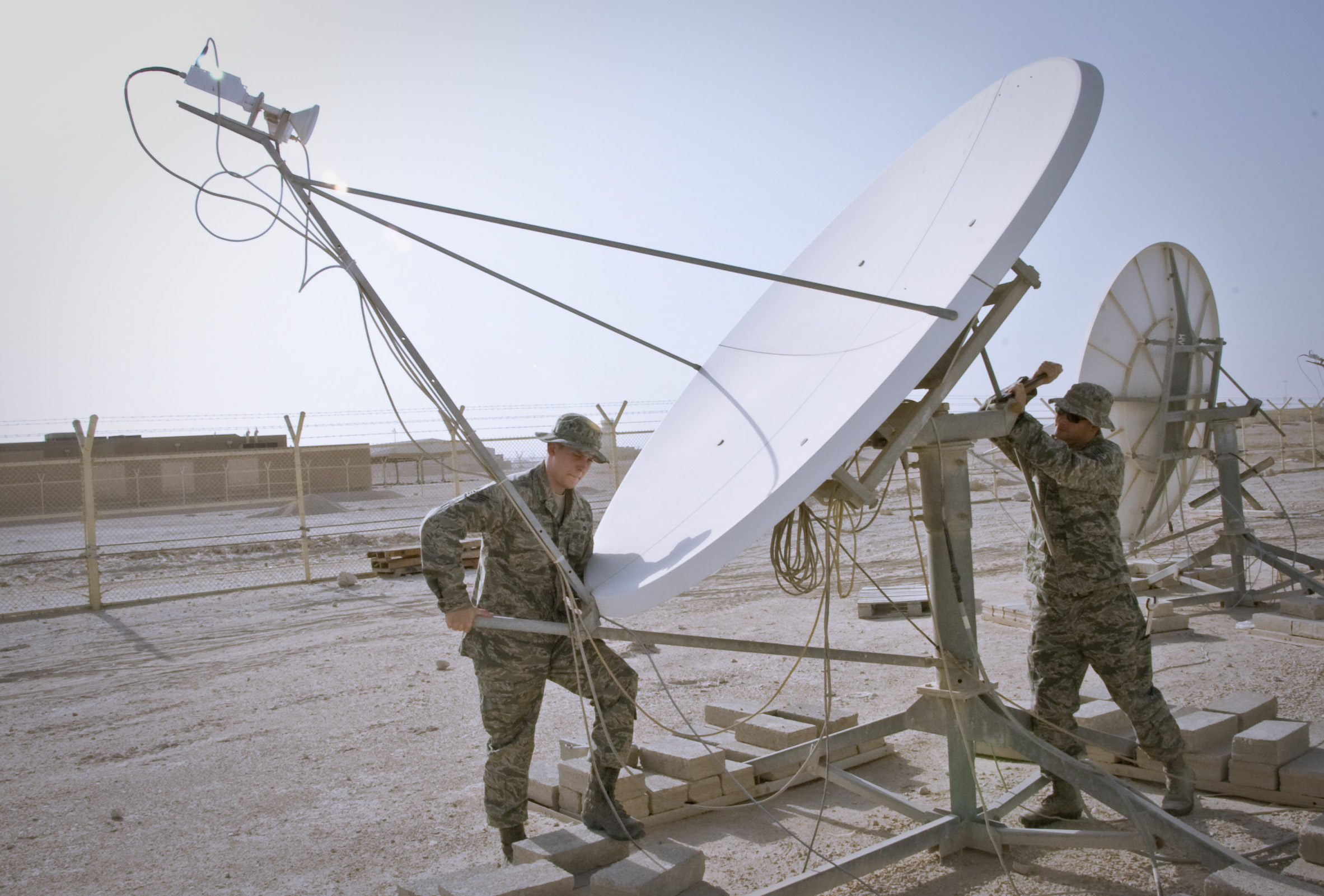 Silent Sentry' gives deployed Airmen upper hand in space superiority ...