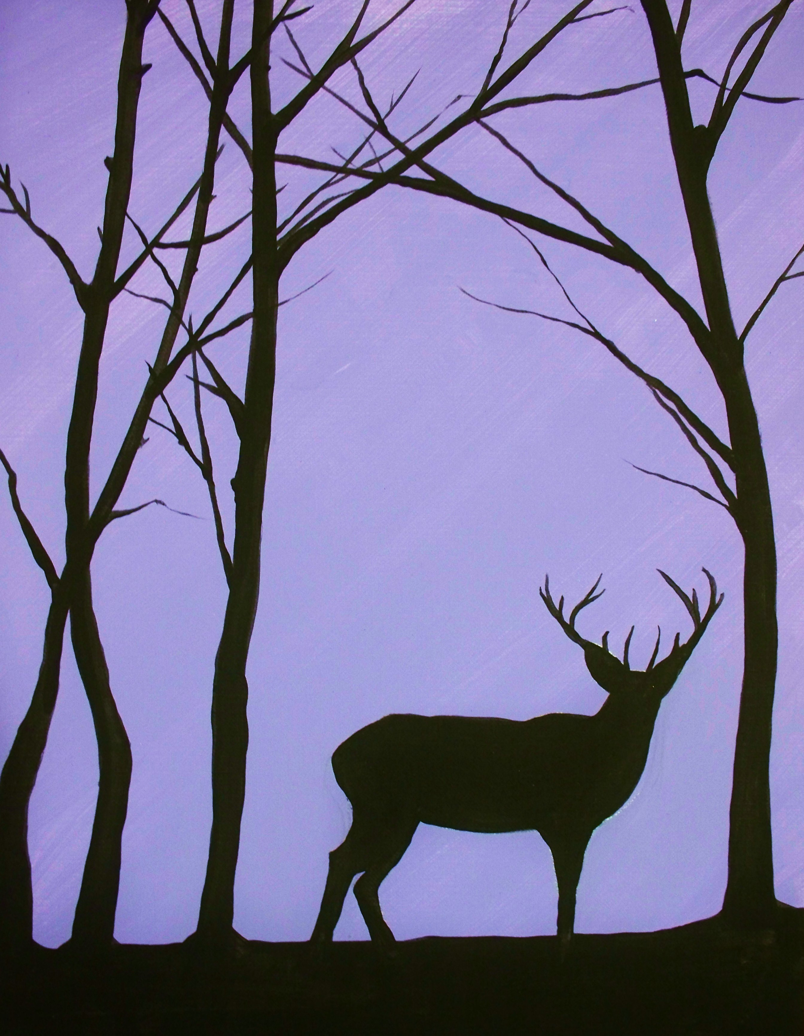Forest Silhouette | artstore | Foundmyself