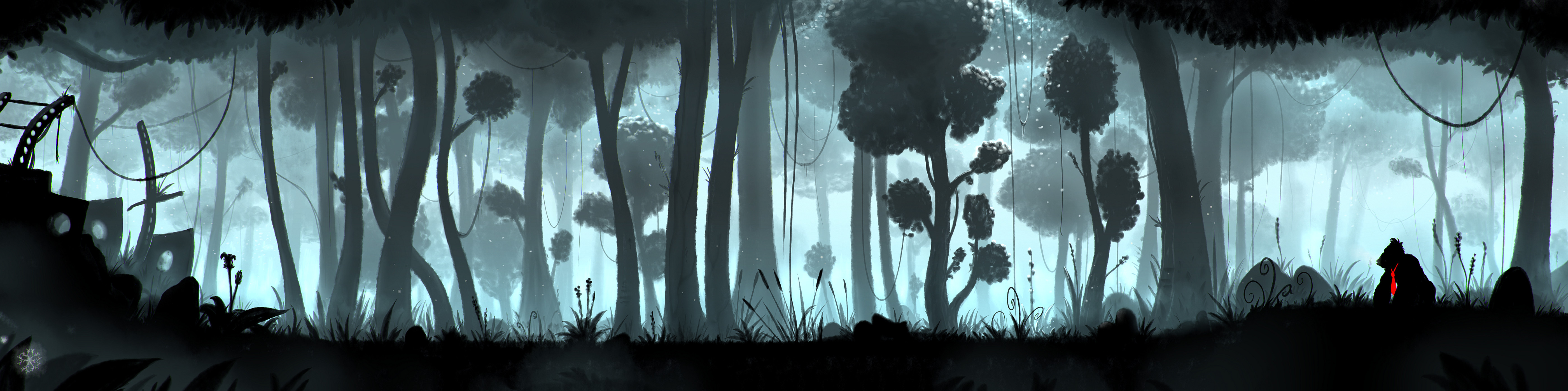 Silhouette Forest — Weasyl
