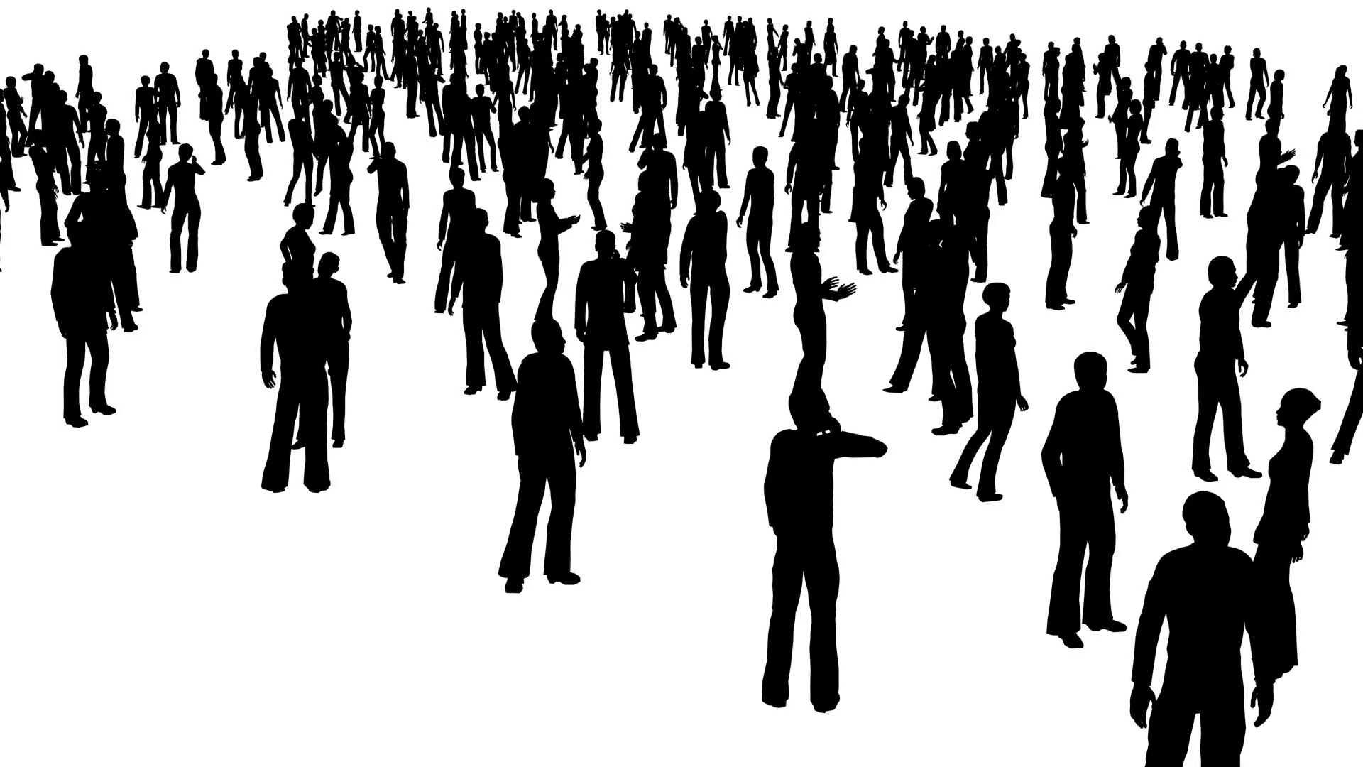 Free Images Black And White People Crowd Statue: Free Photo: Silhouette Of People