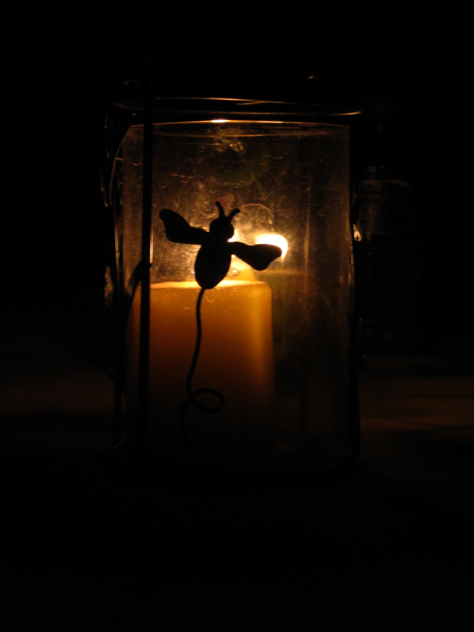 Silhouetted Candle, Light, Bspo06, Effects, Dark, HQ Photo