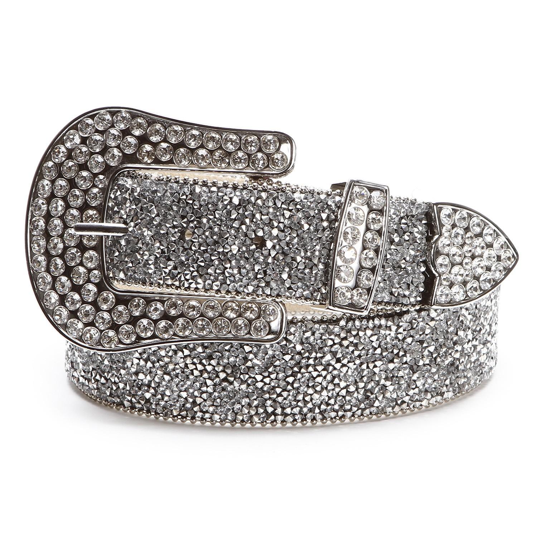 Silver belts photo