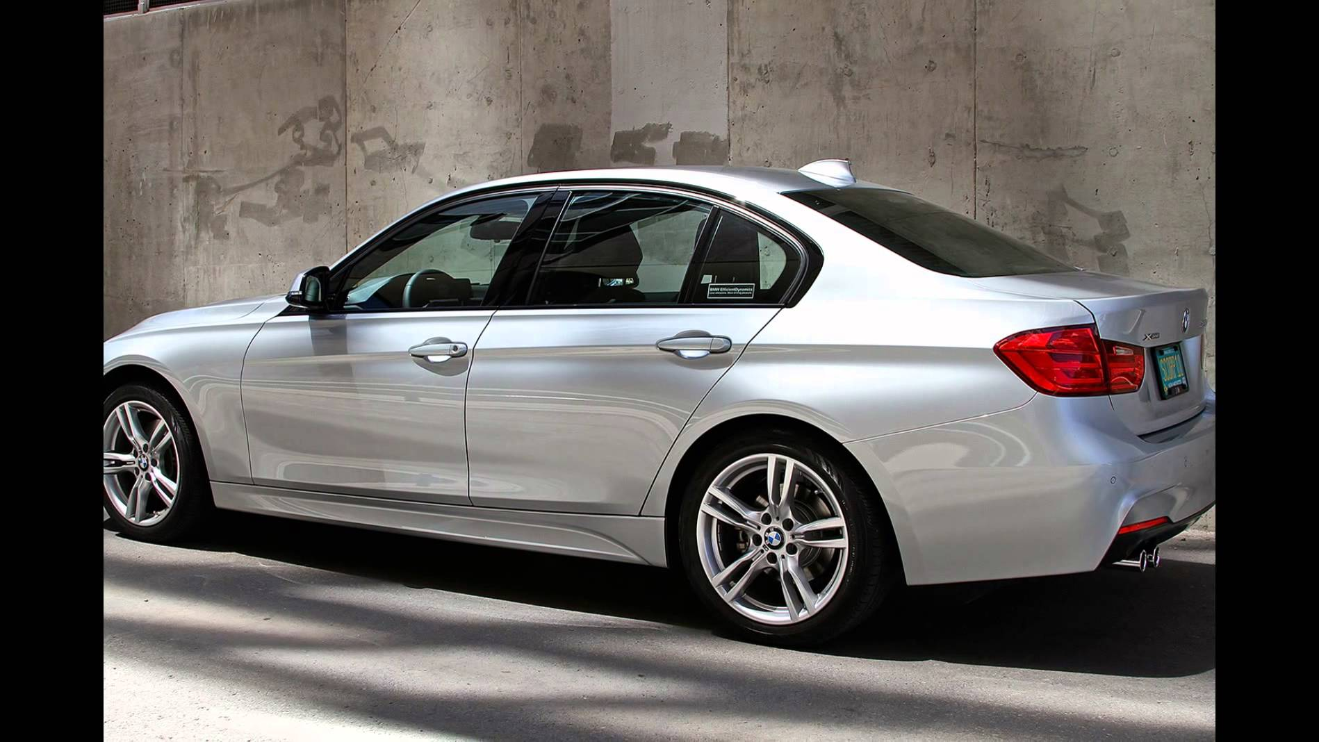 2016 BMW 320i Sedan Glacier Silver Metallic - YouTube