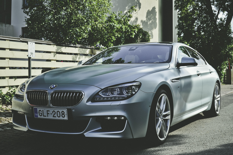 Silver Bmw Sedan, Asphalt, Luxury, Vehicle, Transportation system, HQ Photo
