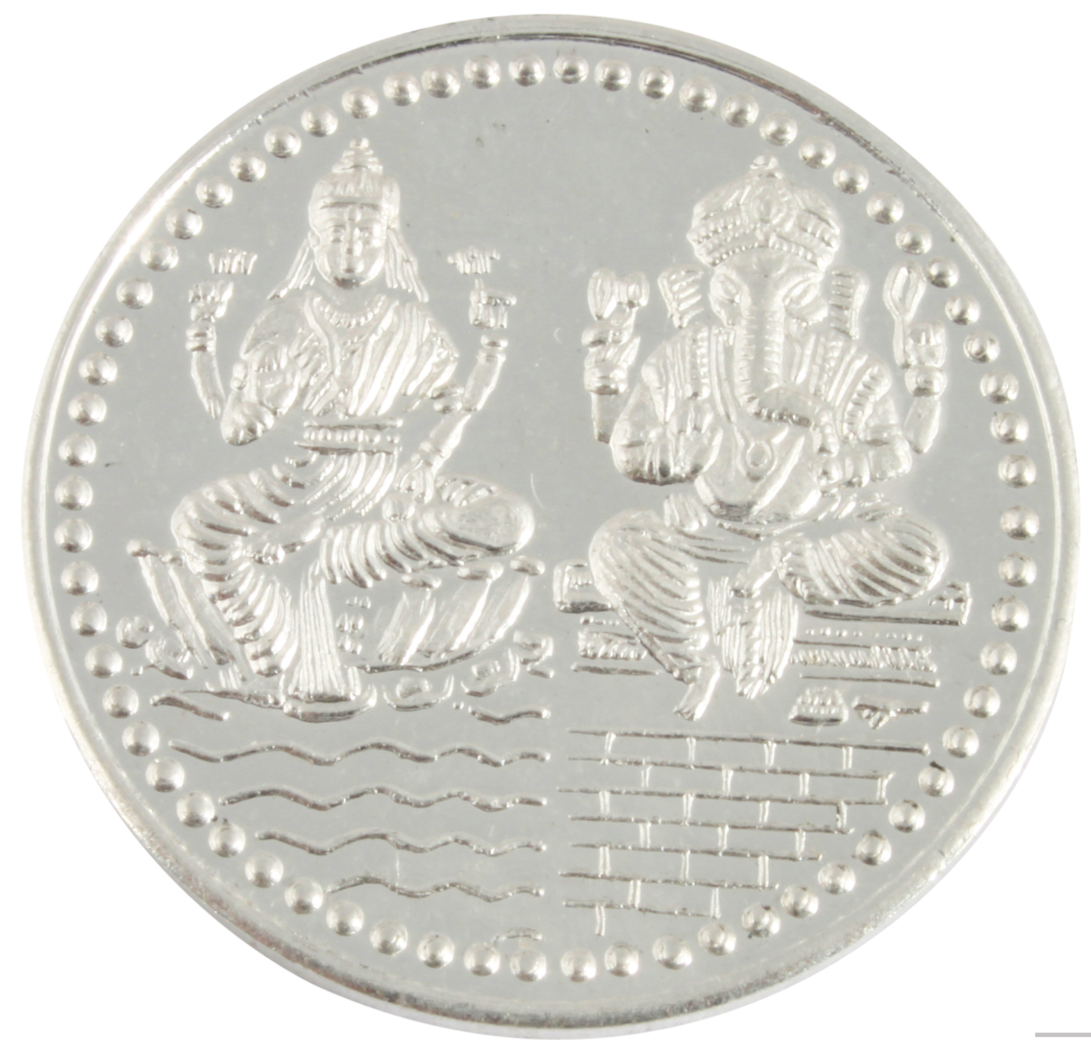 Buy 925 Silver Purity 10 Gram Silver Coin | KhannaJewels