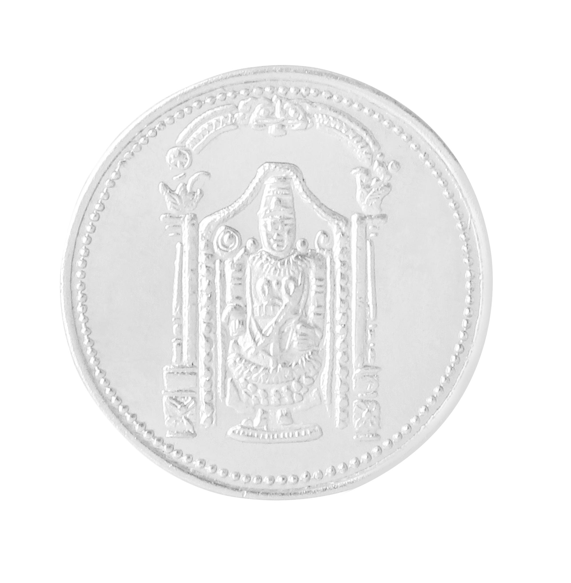Silver Coin Tirupati ji | Novelty Jewellers