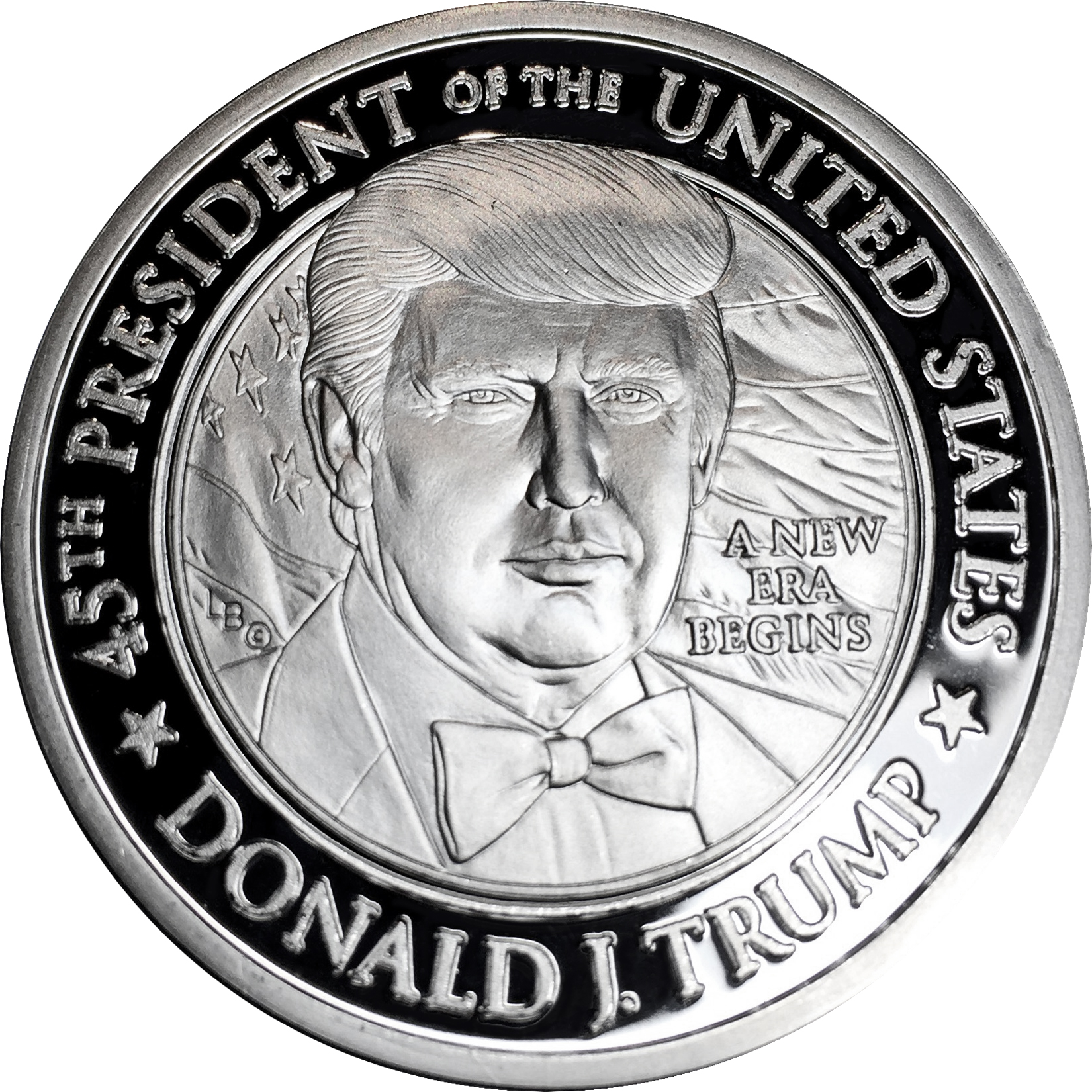 2017 Trump Inauguration Commemorative .999 Fine Silver Coin 1 Troy Oz