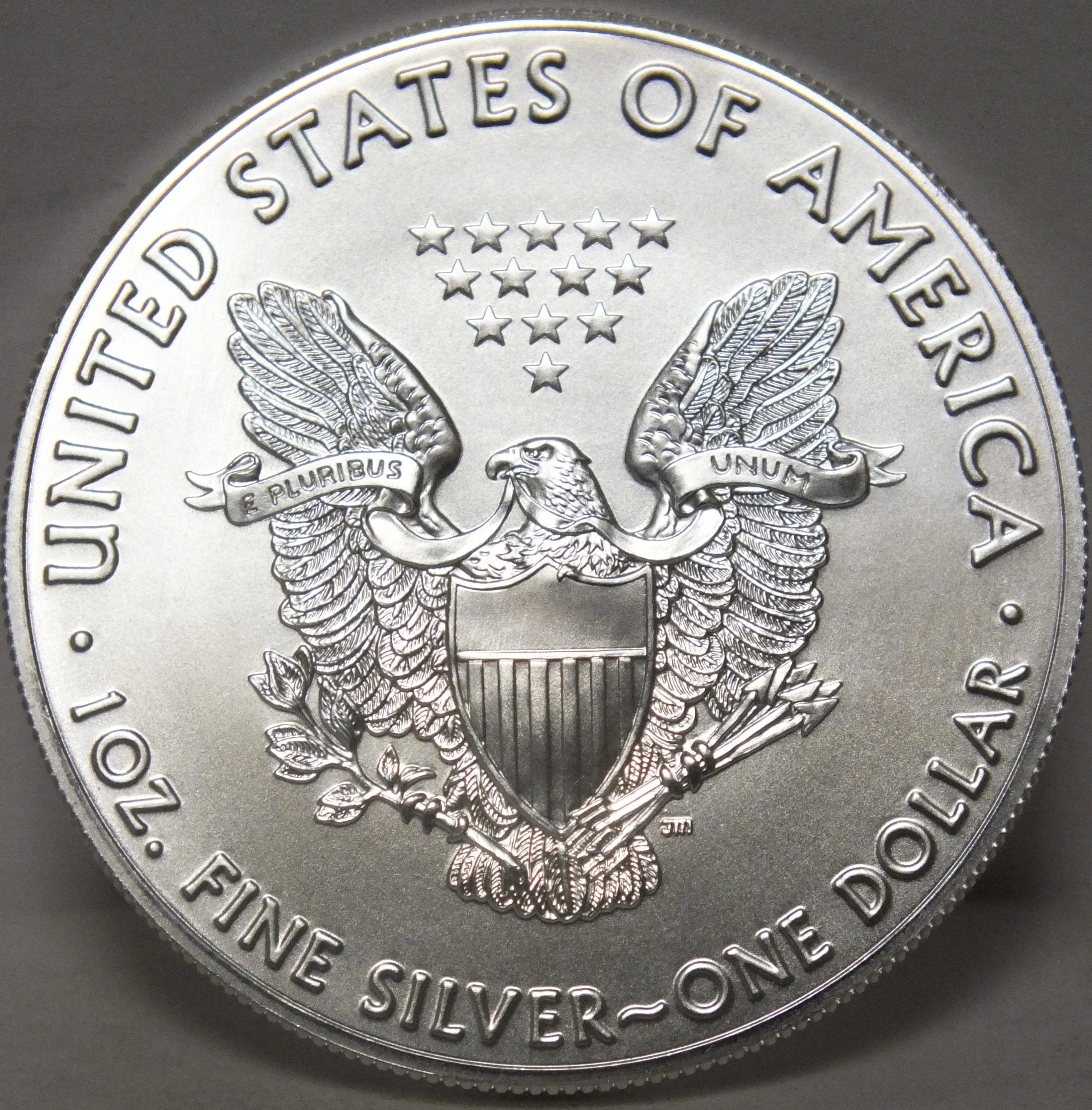 2018 American Silver Eagle Coin 1 Oz .999 Fine Silver $1 One Dollar ...