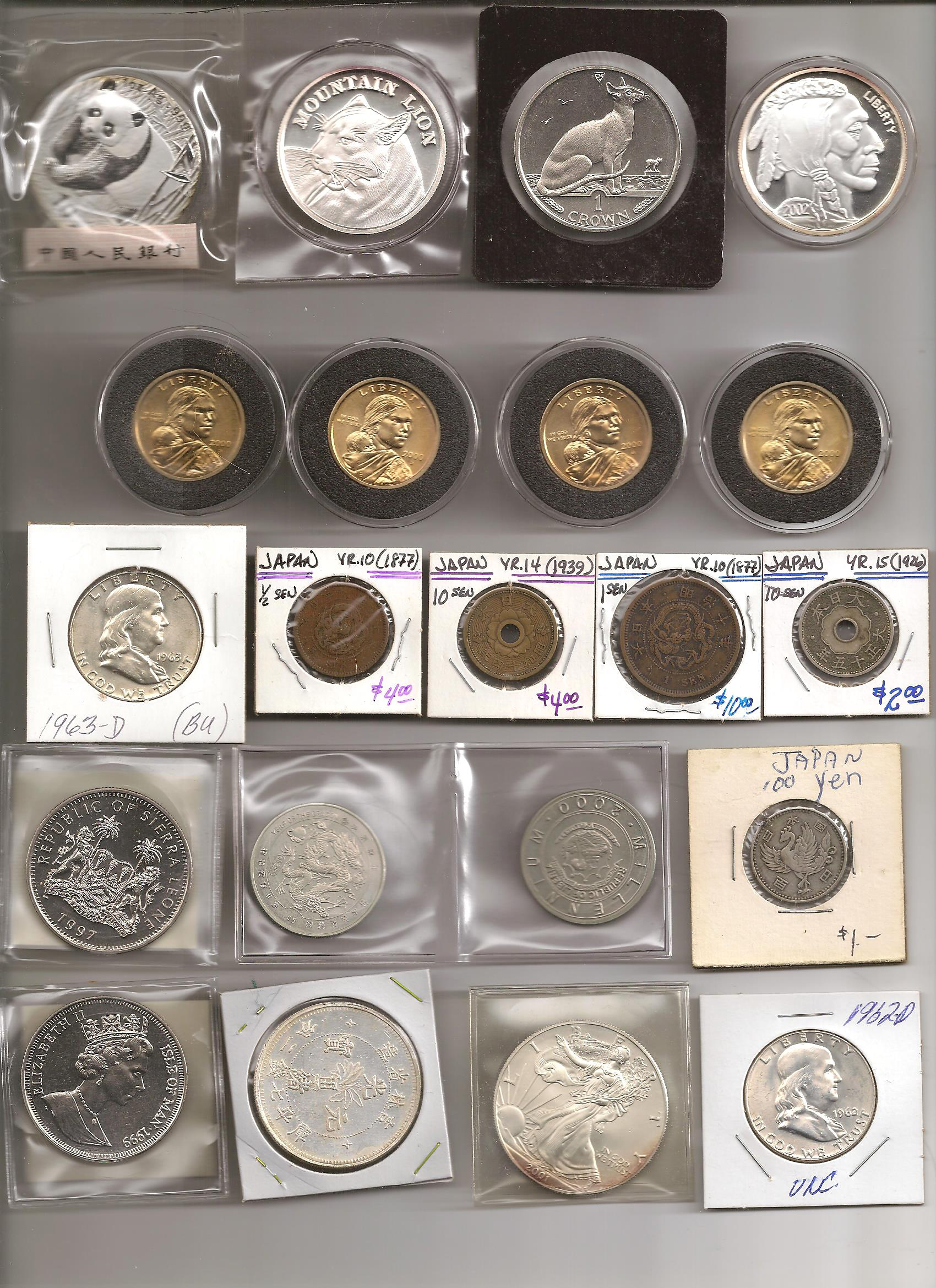 The Short Lived Coin Collection - Cephus' Corner