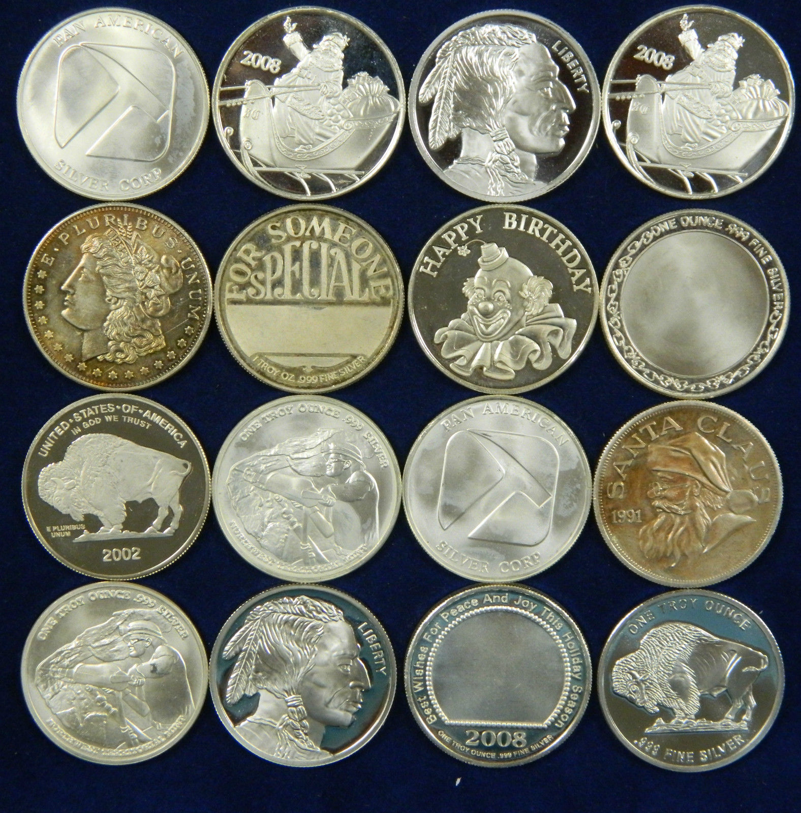 Buy Silver coin   1 oz silver round (generic secondary market)