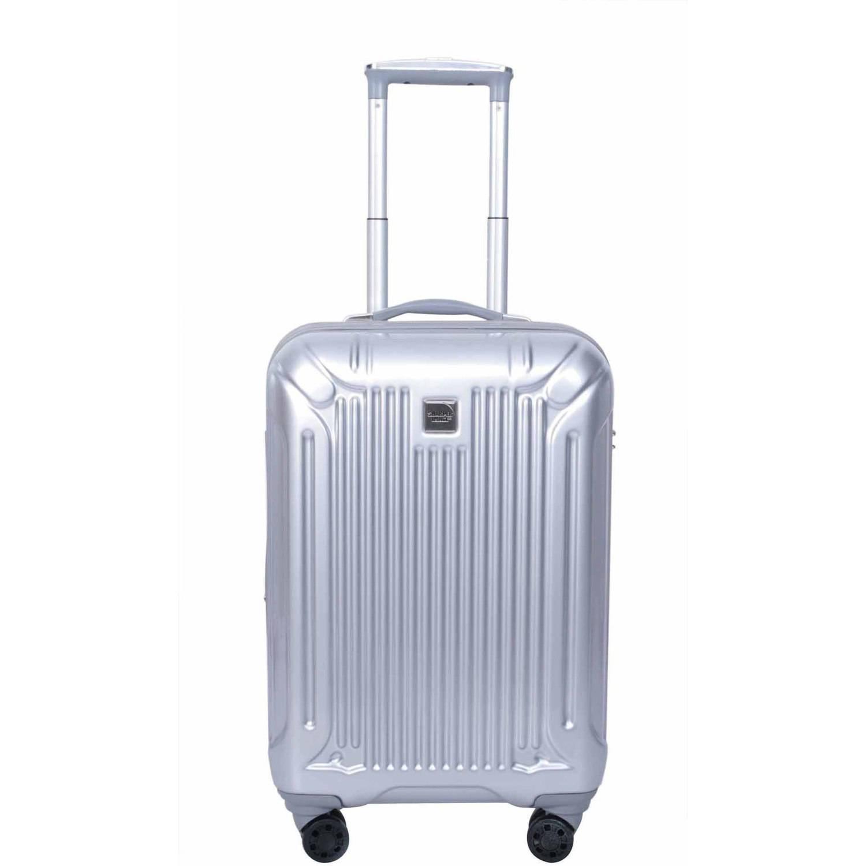 Sharper Image Hardside Rolling Suitcase, Silver - Walmart.com