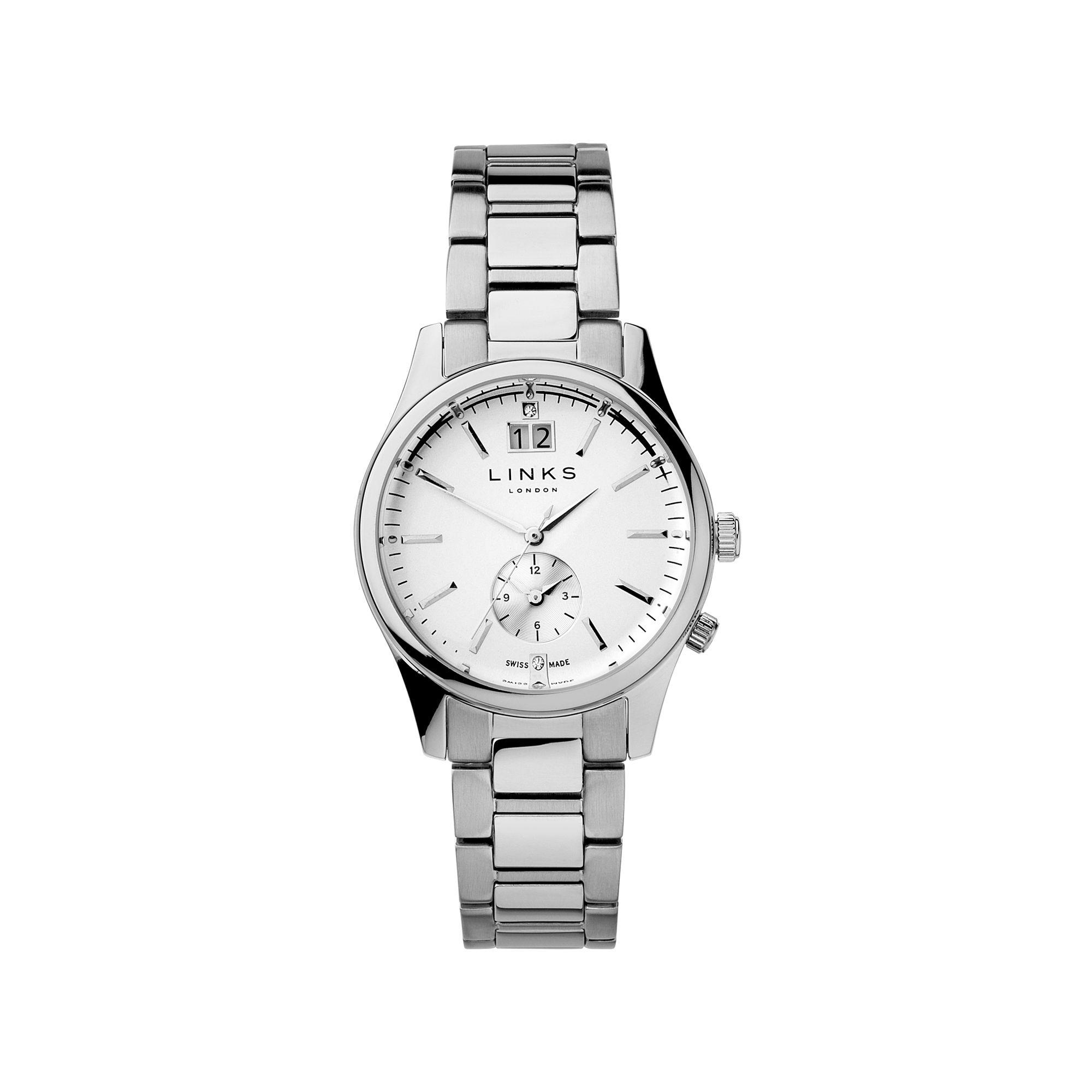 Regent Silver Plate Bracelet Watch | Links of London