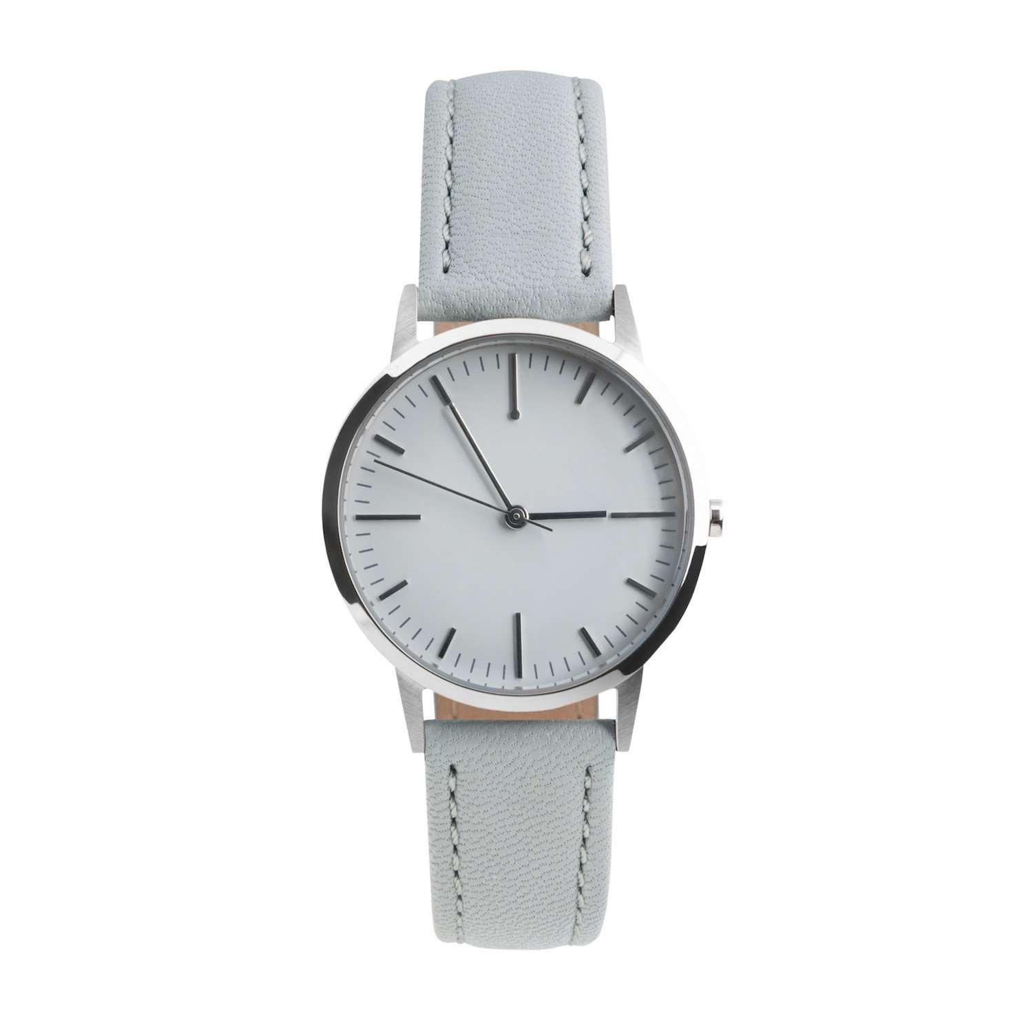 Small Silver & Grey Simple Watch | Freedom To Exist