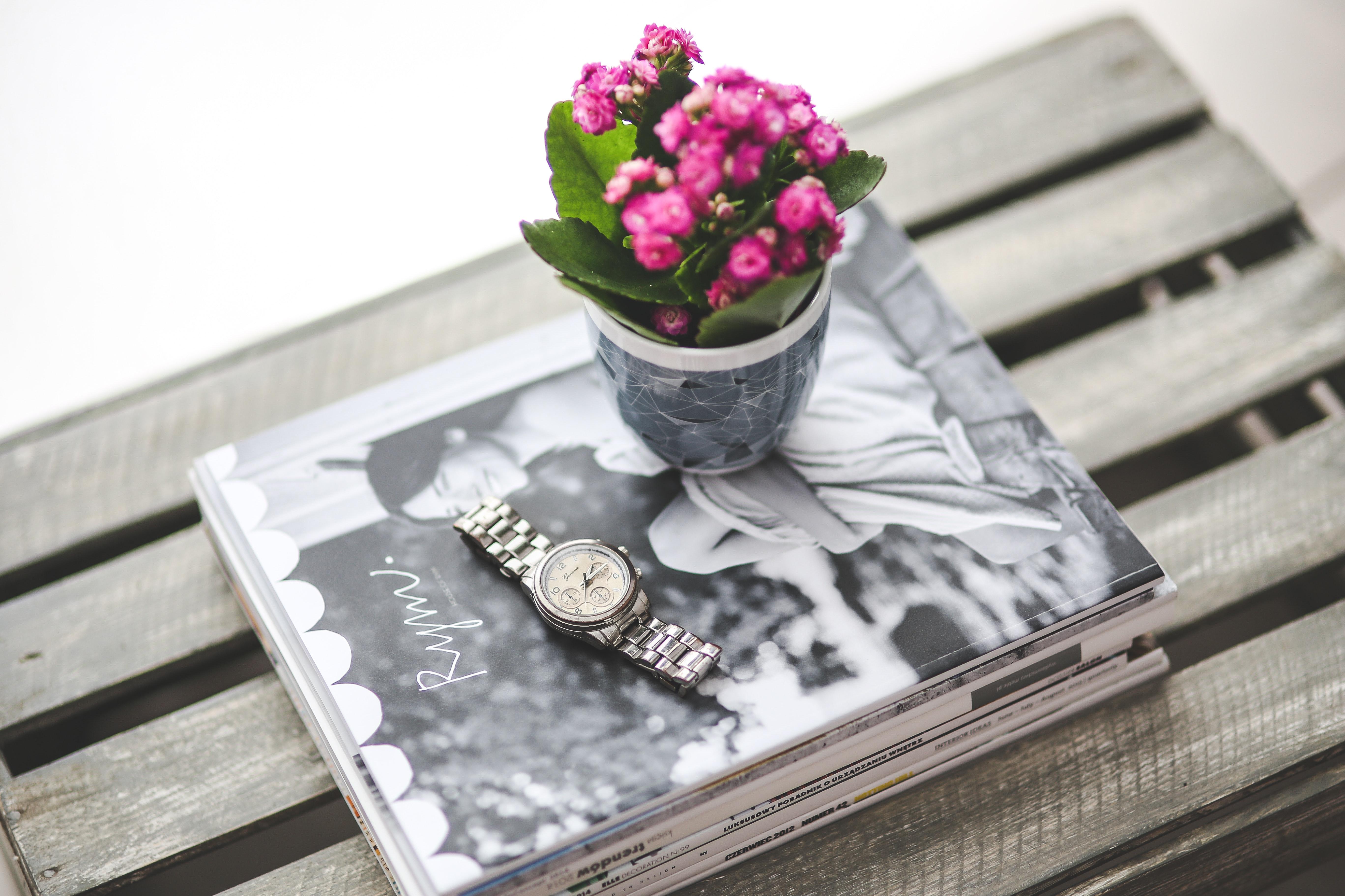 Silver watch, Business, Pink, Wedding, Watch, HQ Photo