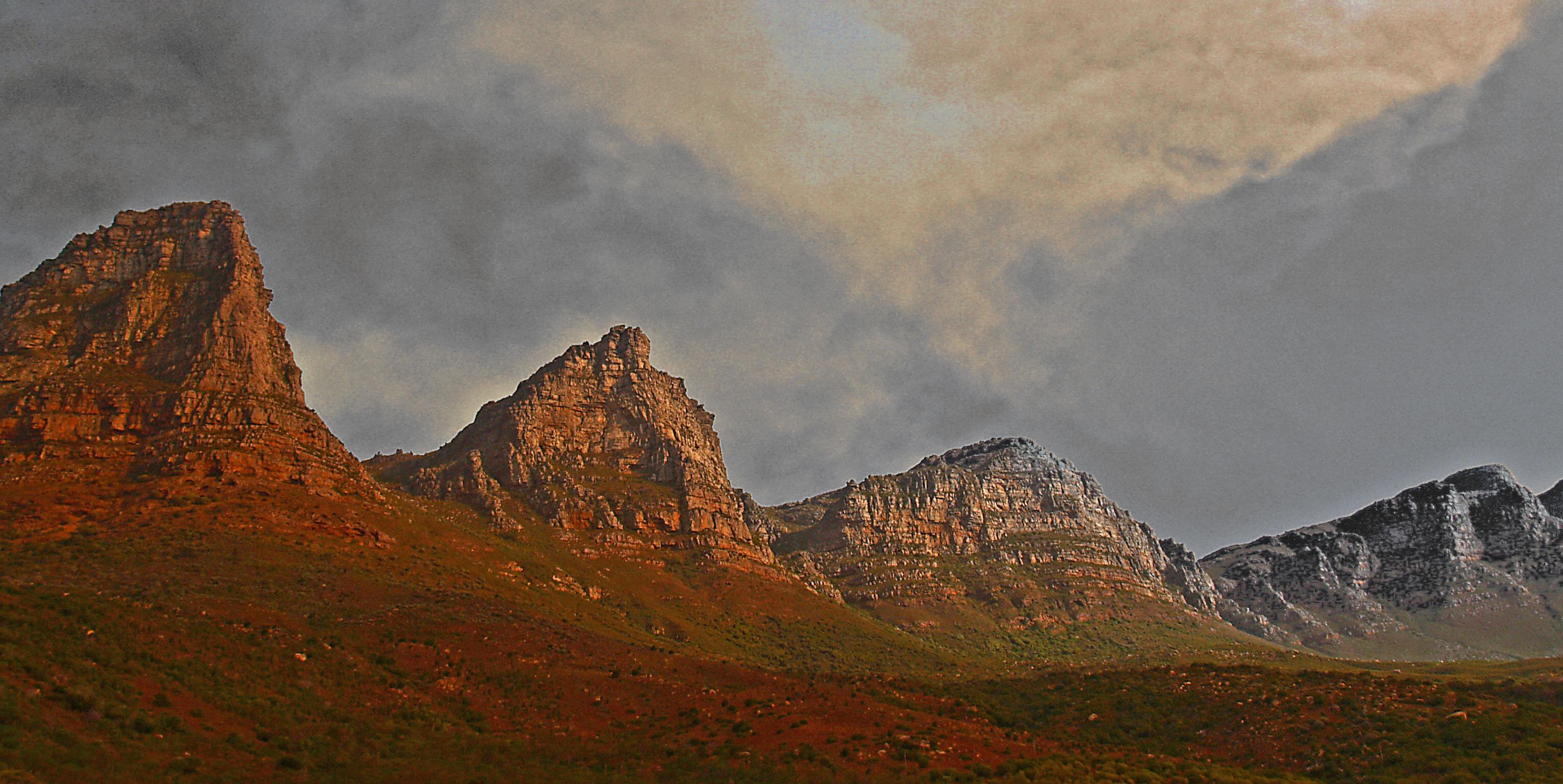Sister mountais, Bspo06, Cliffs, Landscape, Mountains, HQ Photo