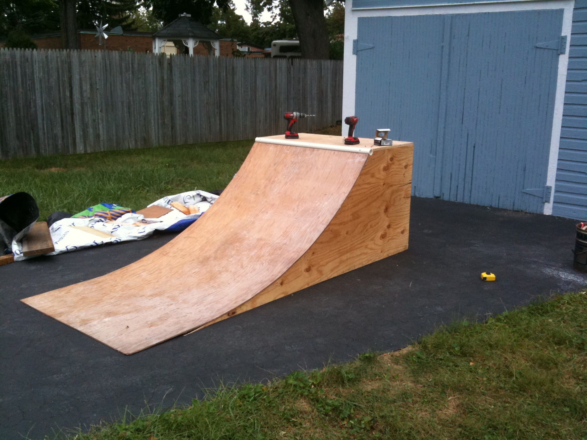 A Skate Ramp for my Son - WNY Handyman