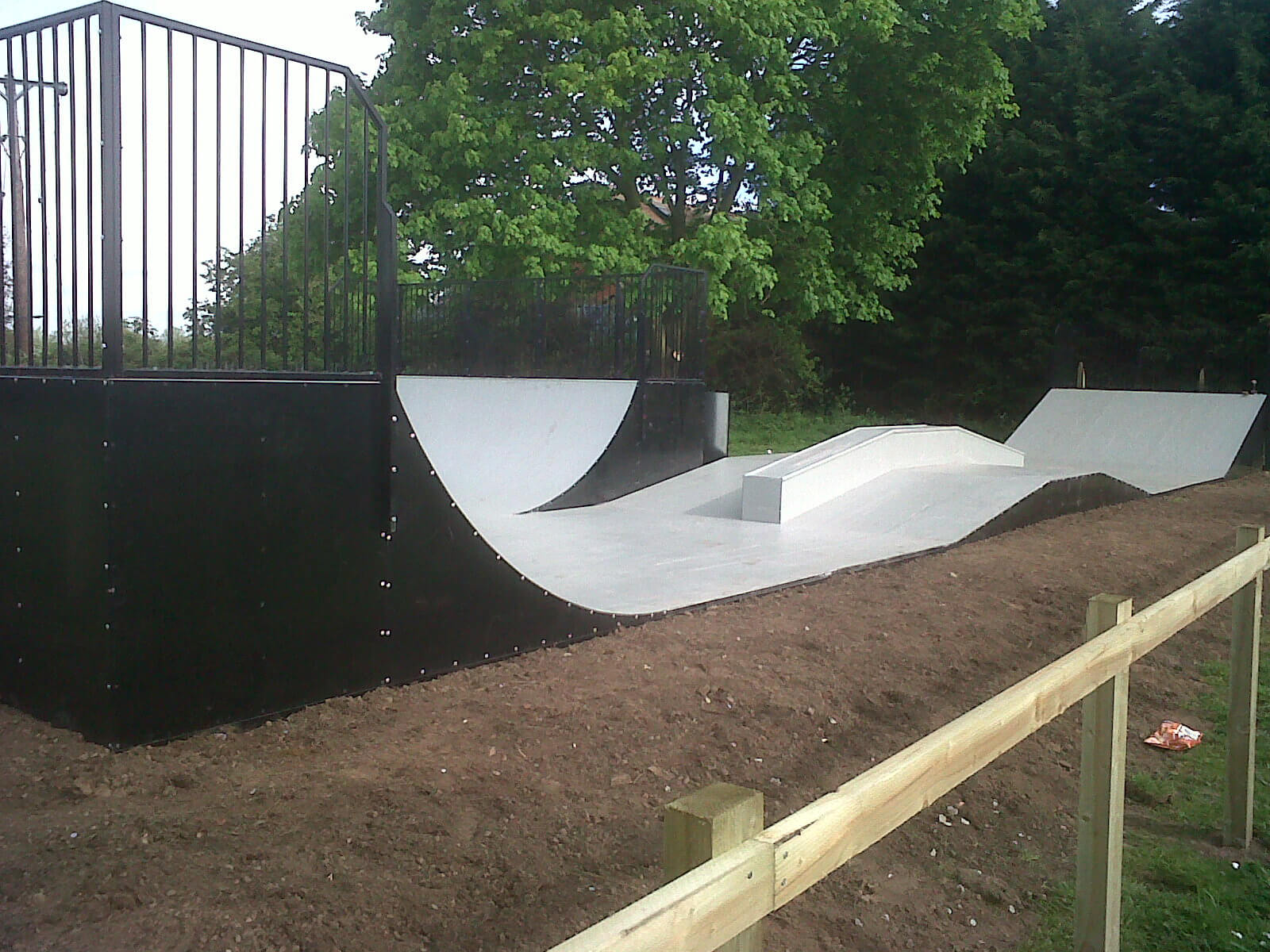 Removable Skate Ramp - Major Fabrications