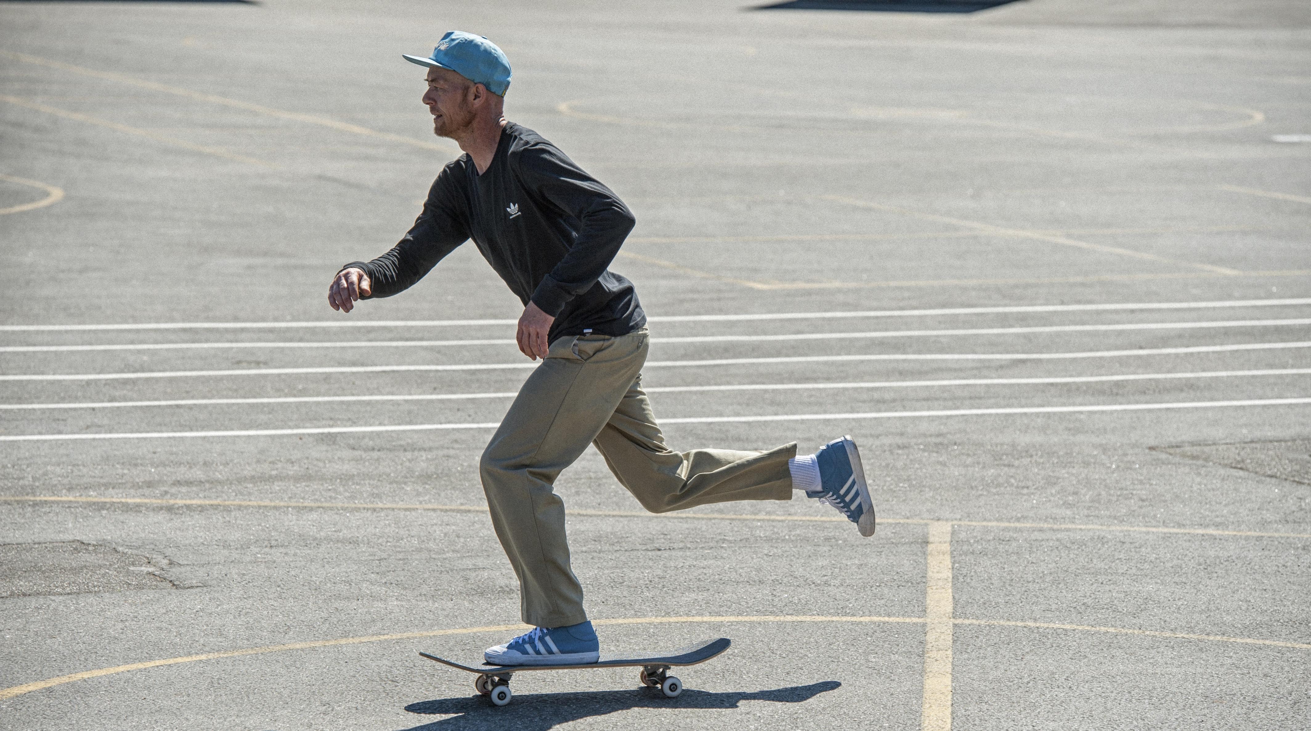adidas Skateboarding: On Your Marc MJ x Matchcourt M...