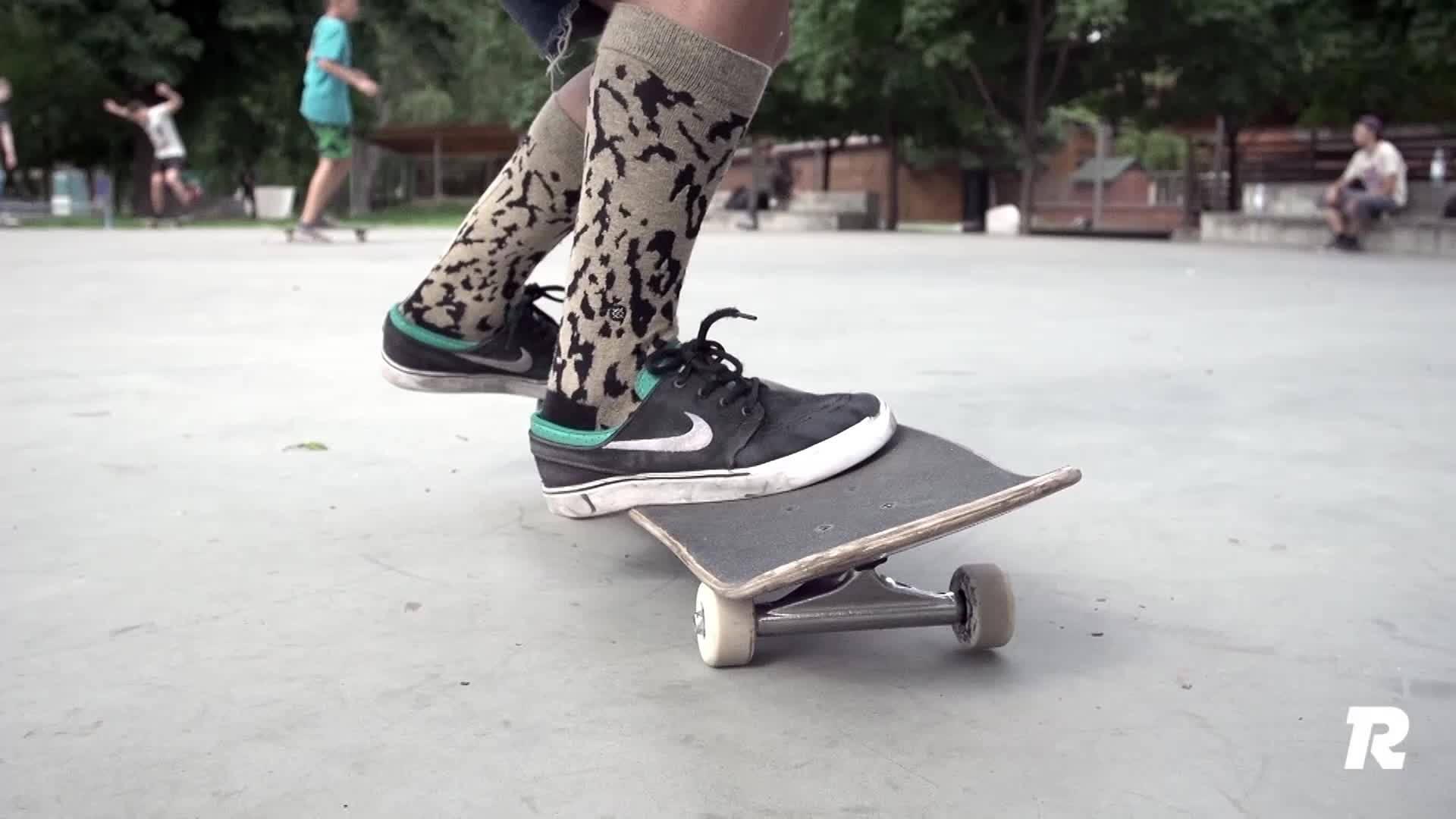 Skateboarding photo