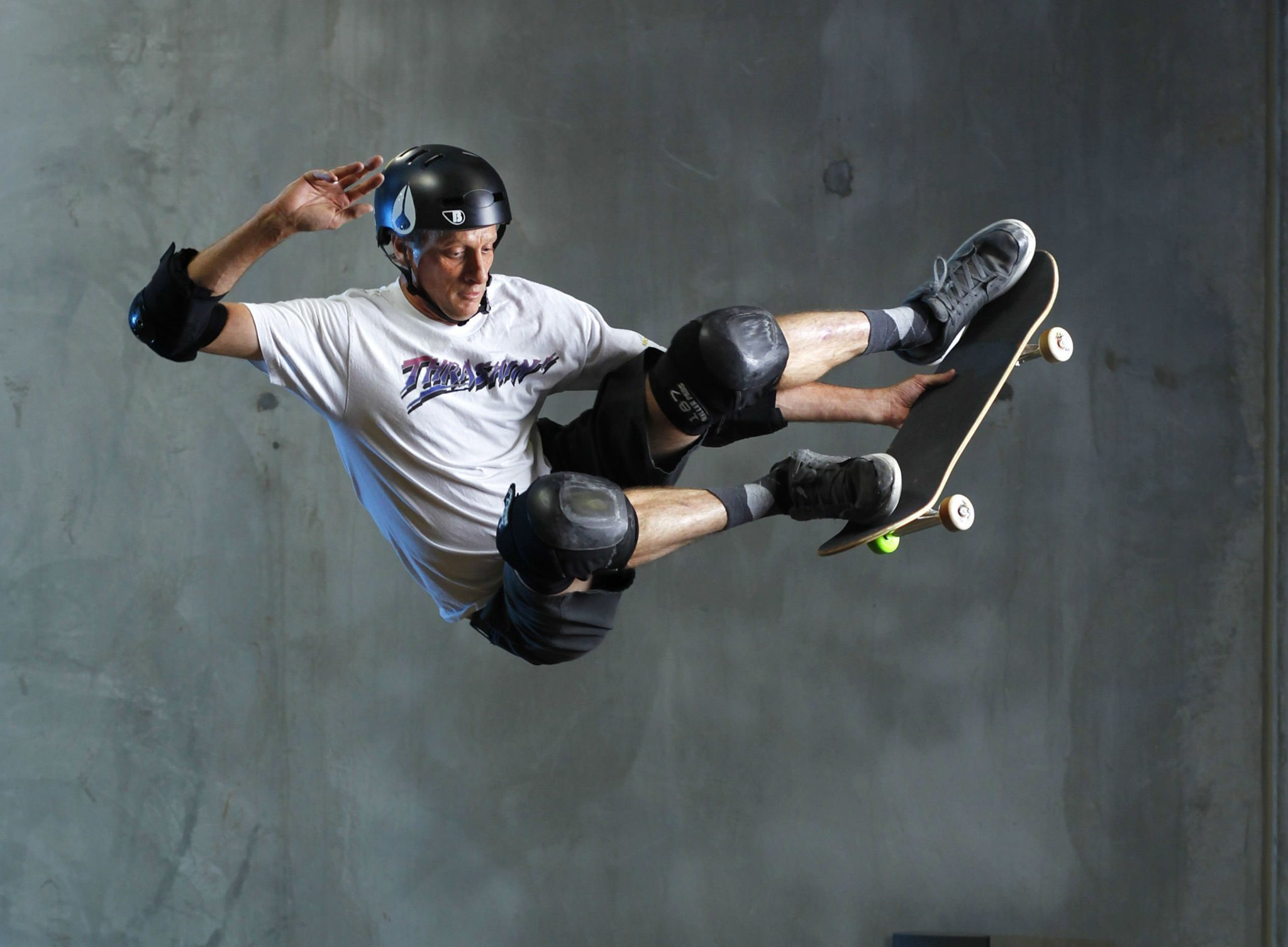 Tony Hawk has transformed skateboarding into global culture - The ...