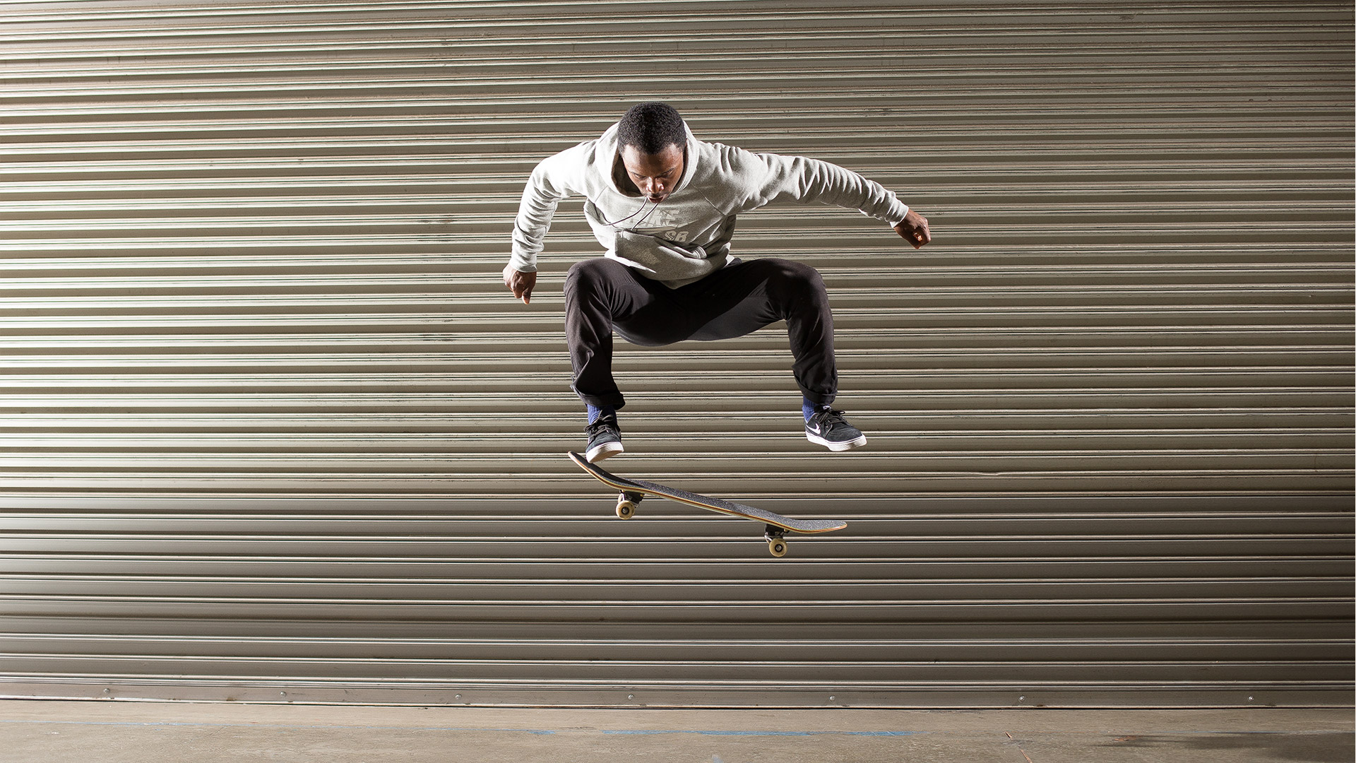 Dashawn Jordan Wasn't Really Into Skateboarding