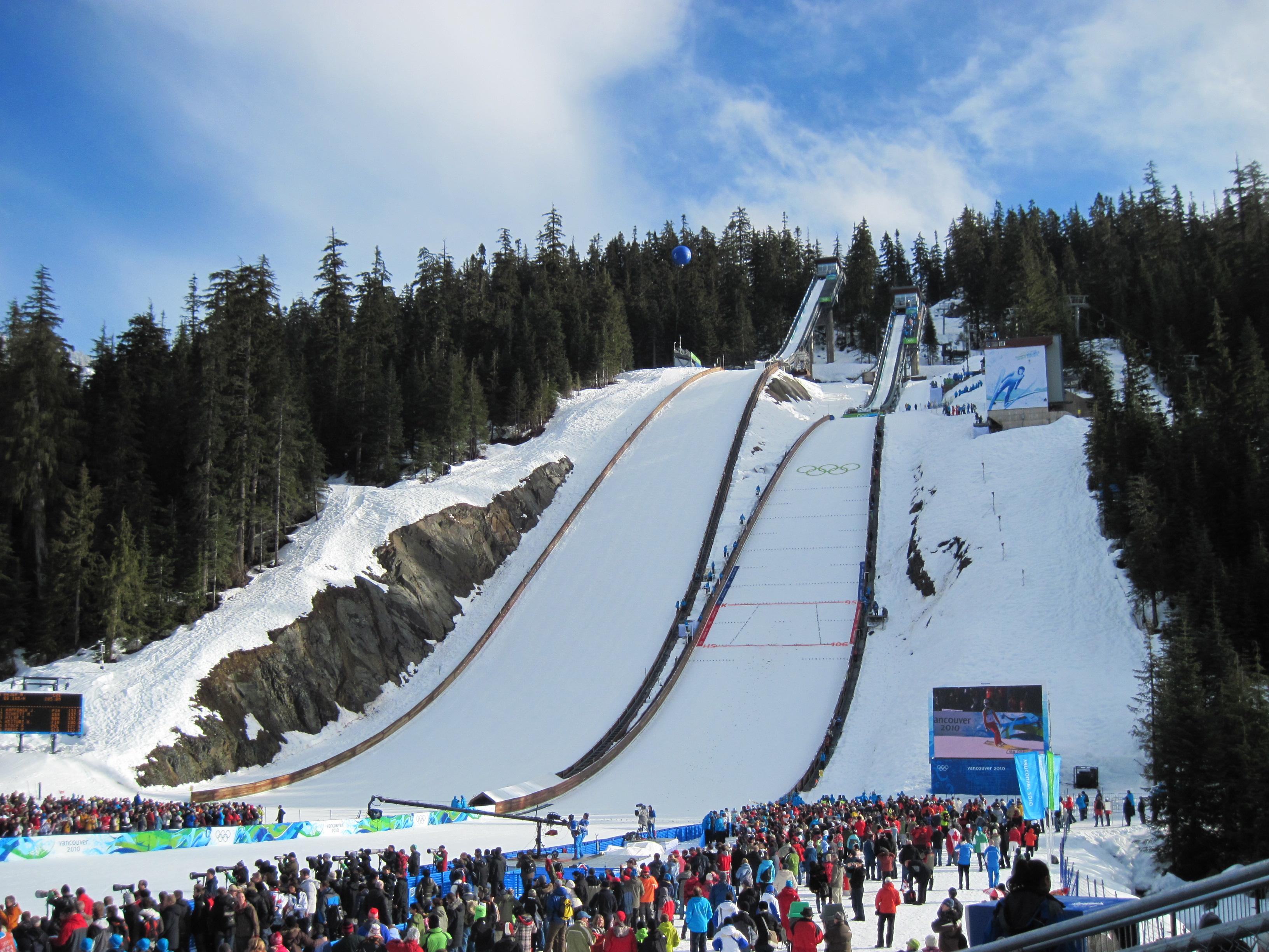 File:Ski jumping hills, Whistler 2.jpg - Wikimedia Commons
