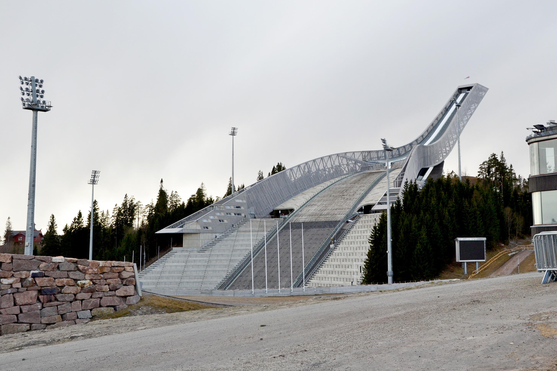 Ski jumping hill, Oslo, Ski, Olympic, Norway, HQ Photo