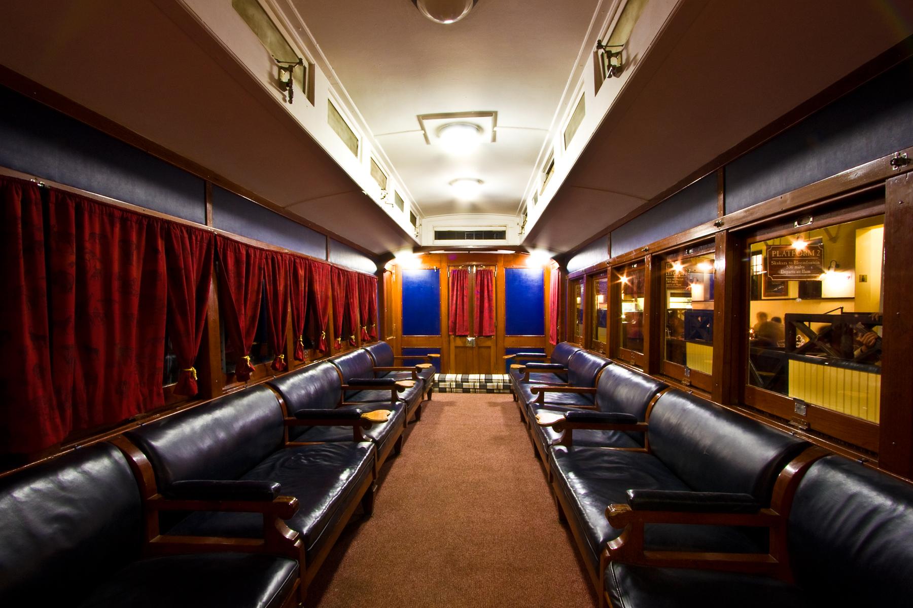 Skukuza train interior photo