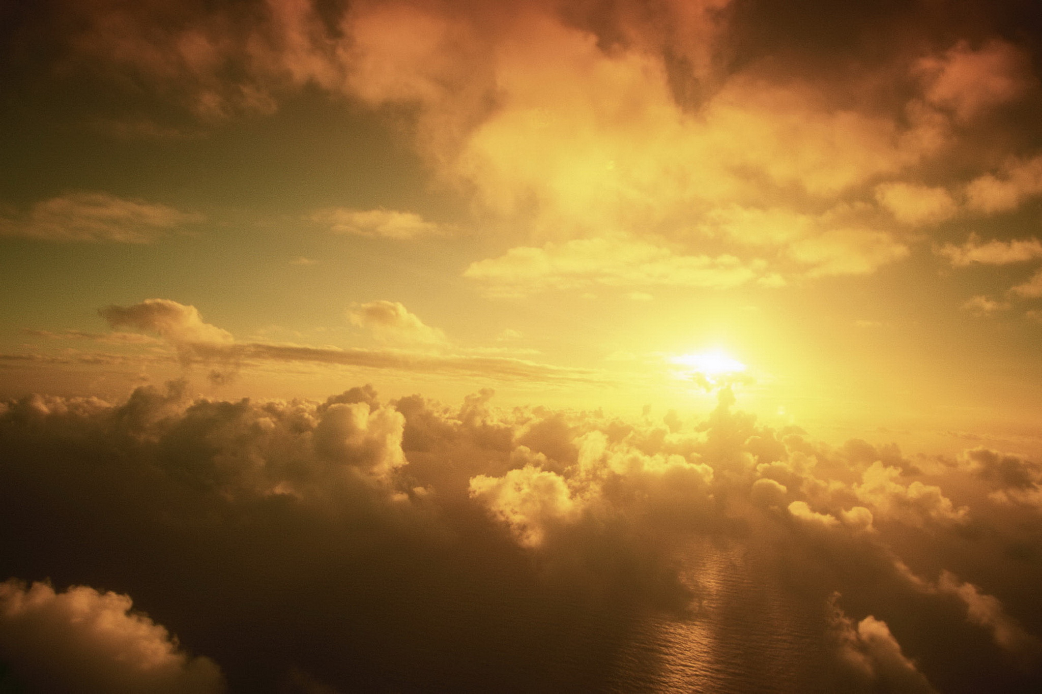 Sky, clouds and sea / 2048 x 1365 / Skyandclouds / Photography ...