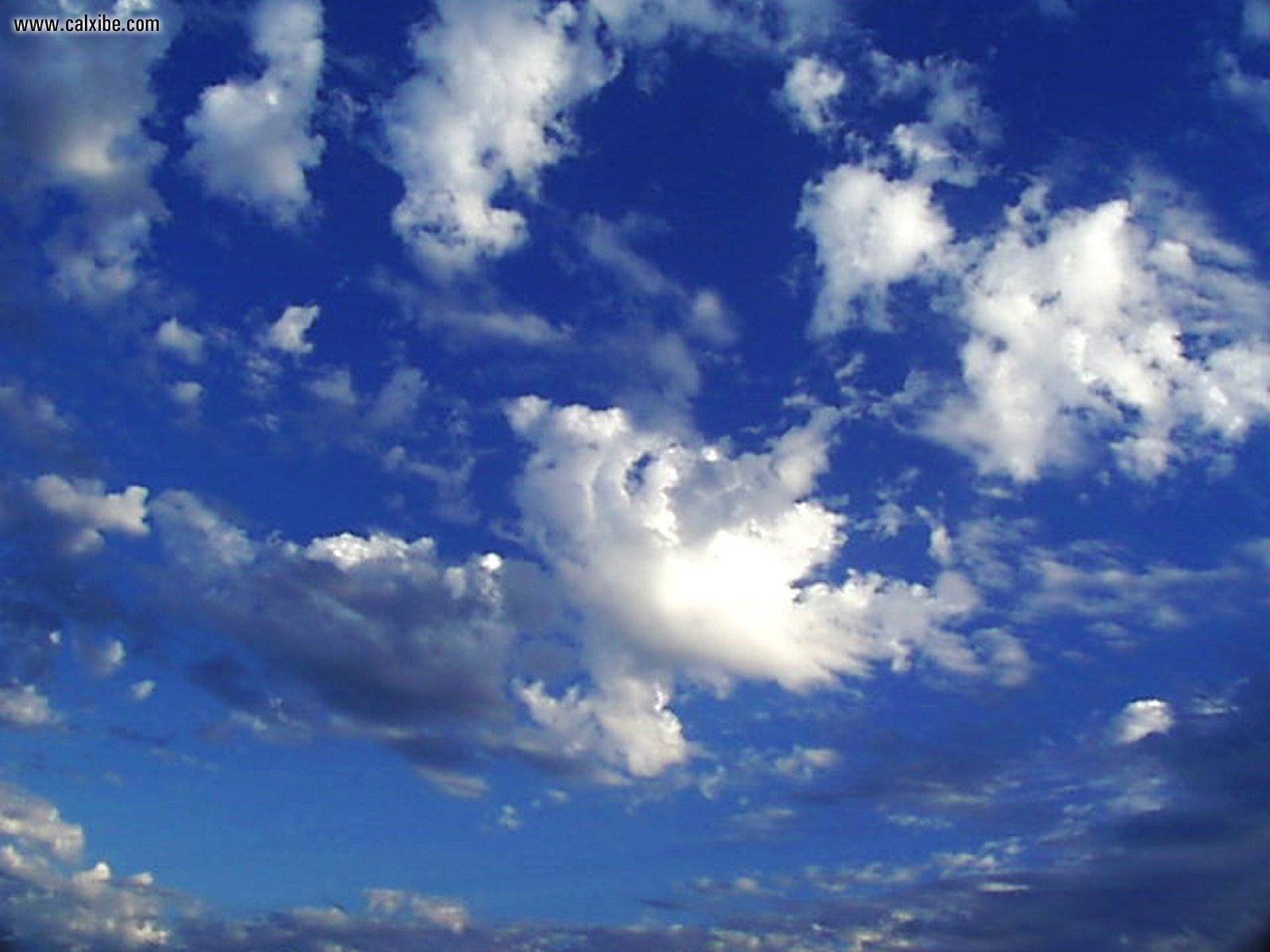 Nature: Blue Sky and Clouds, picture nr. 18635
