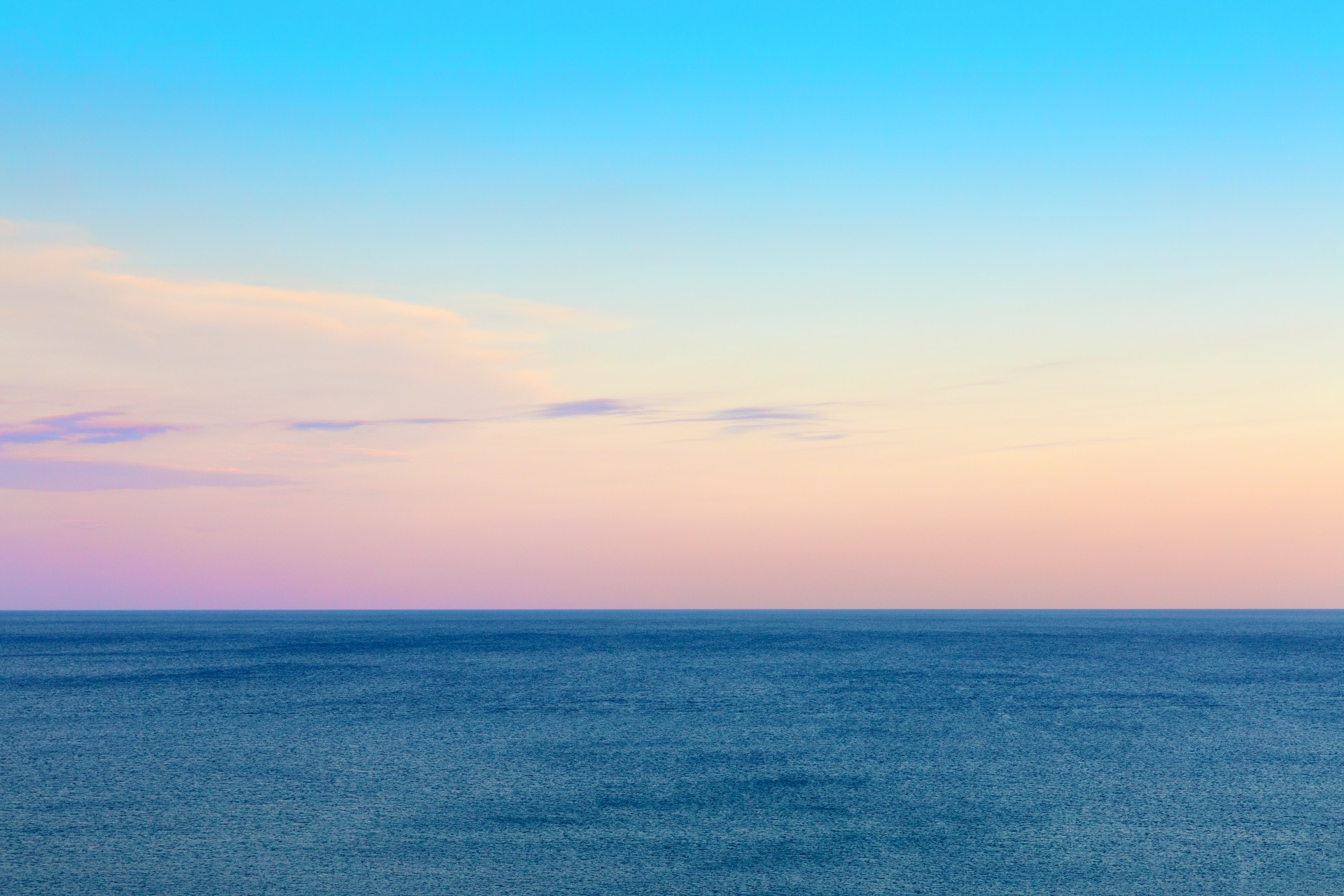 Twilight Sky And Sea Free Stock Photo - Public Domain Pictures