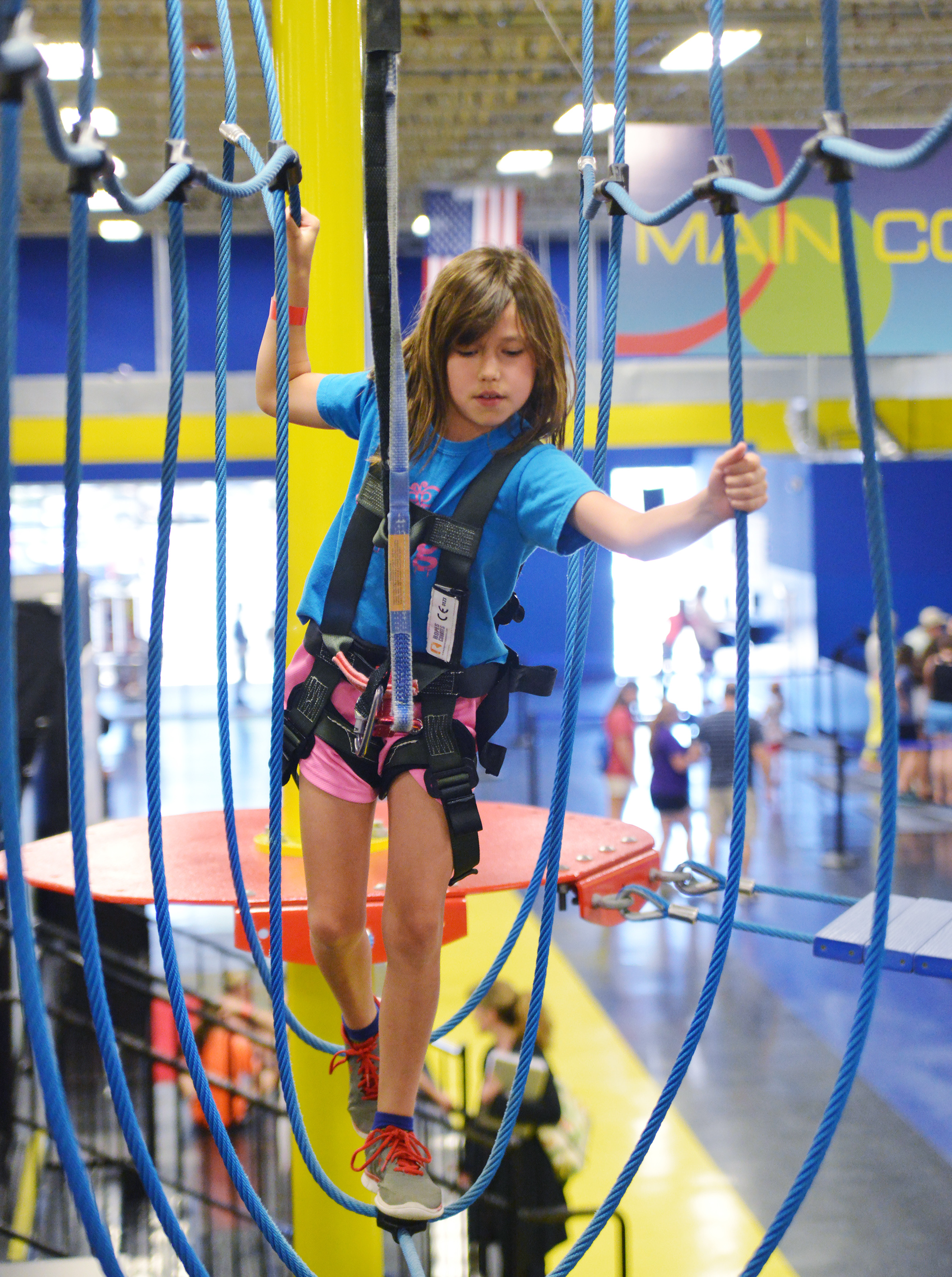 High Ropes Course For Kids | Charlotte, NC | Sky High Sports