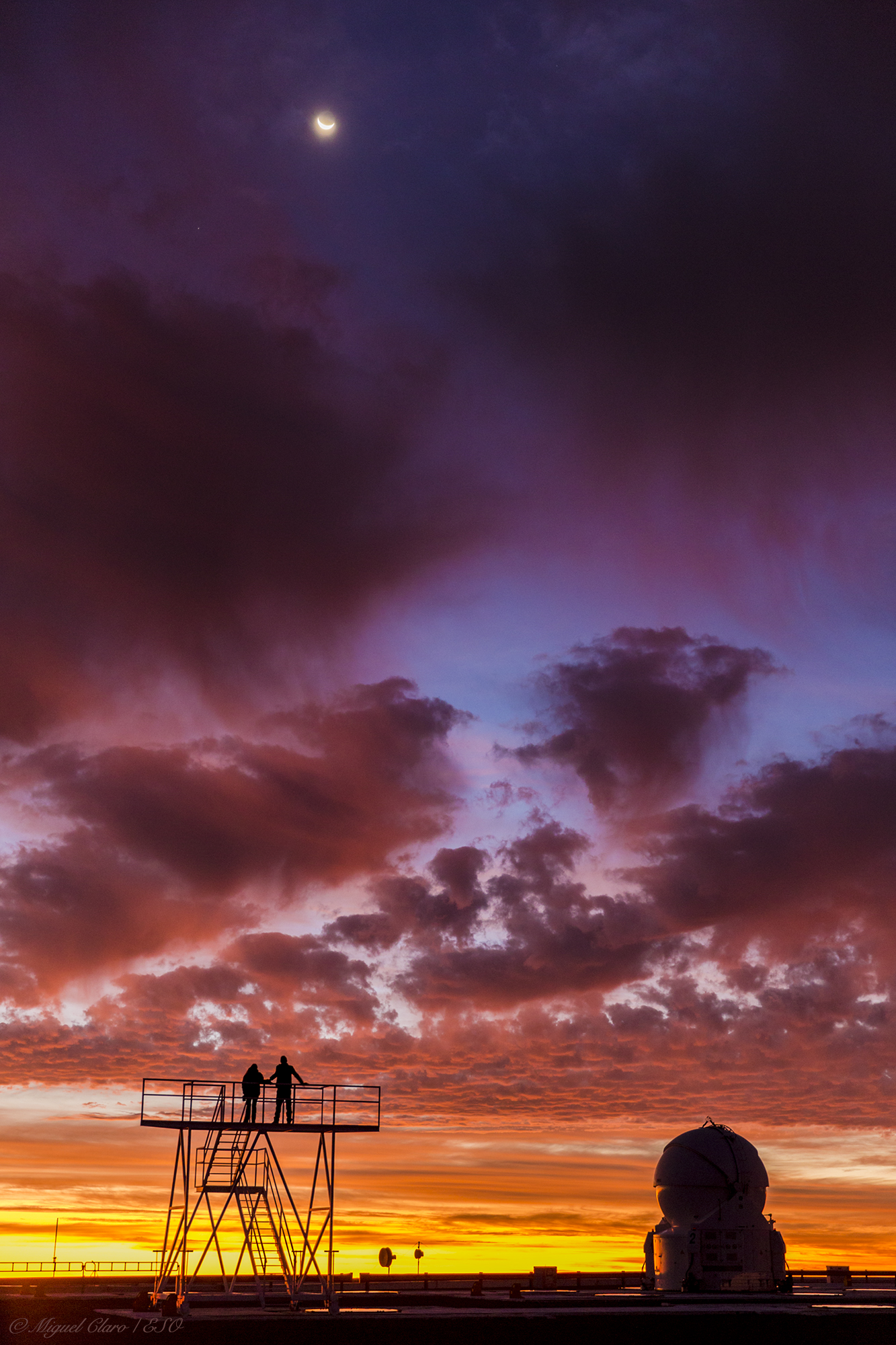 A Romantic Scene in a Lovely Sky @ Astrophotography by Miguel Claro ...