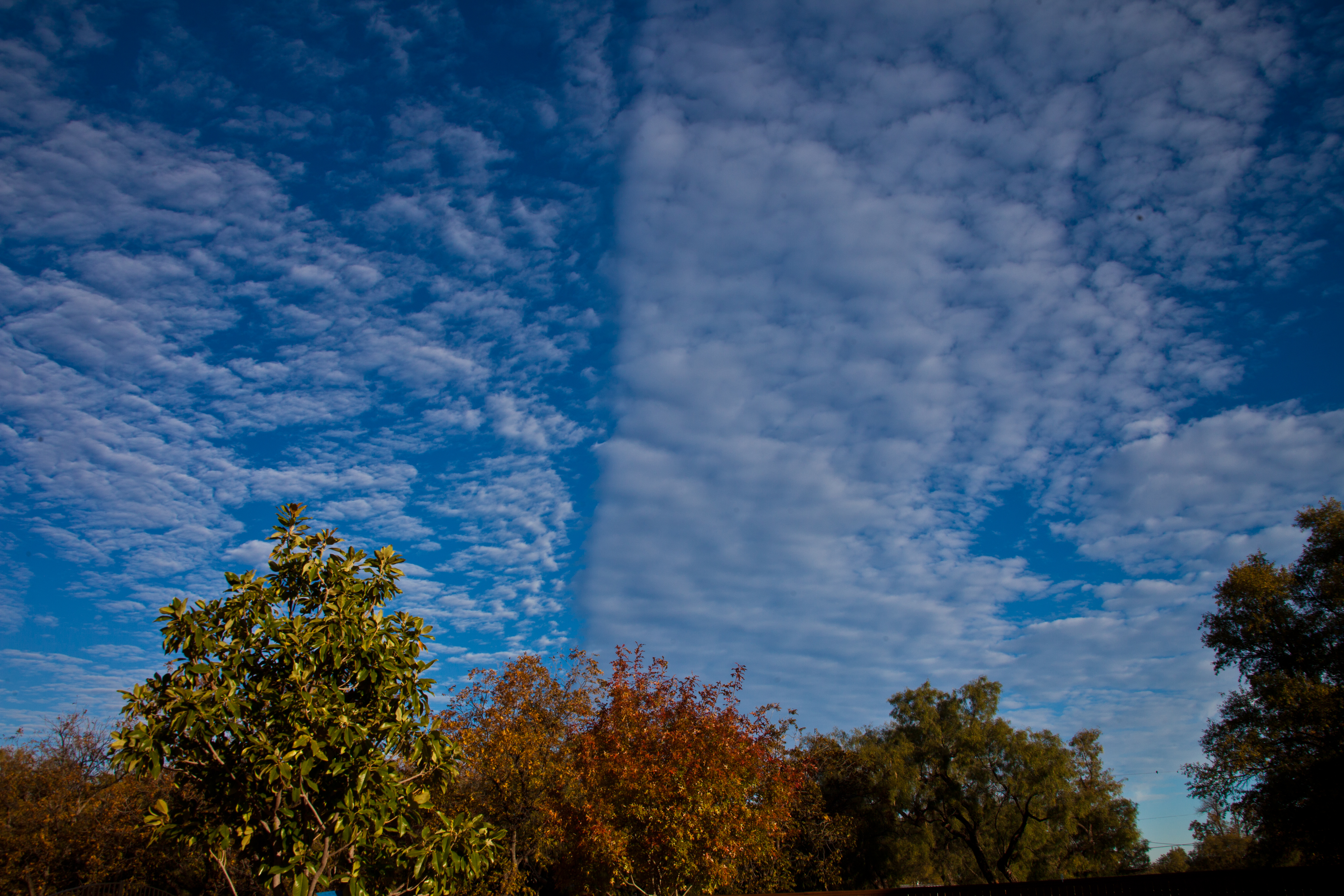 Sky scene, Angelo, Blue, Clouds, Color, HQ Photo