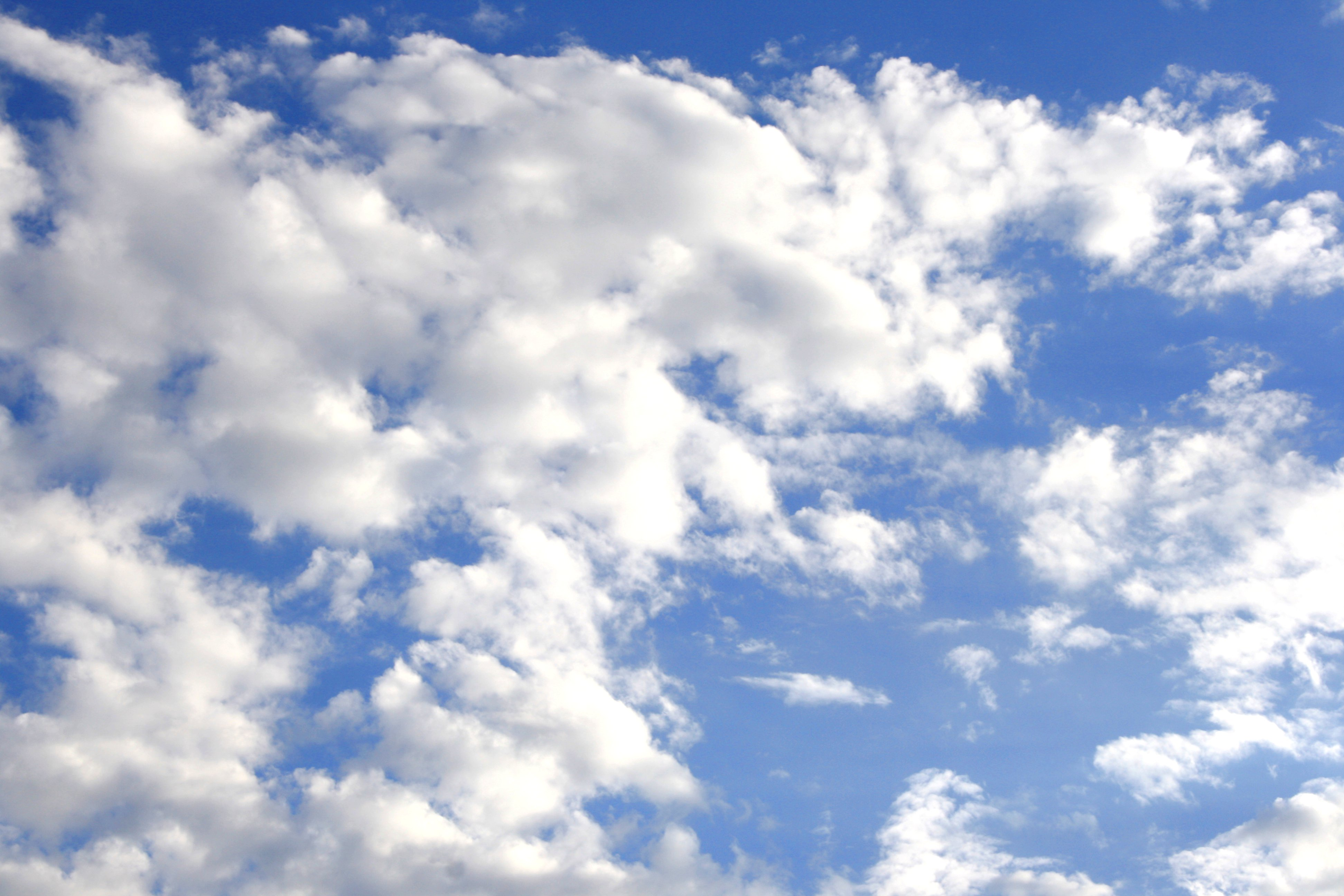 Blue Sky with Clouds Picture | Free Photograph | Photos Public Domain