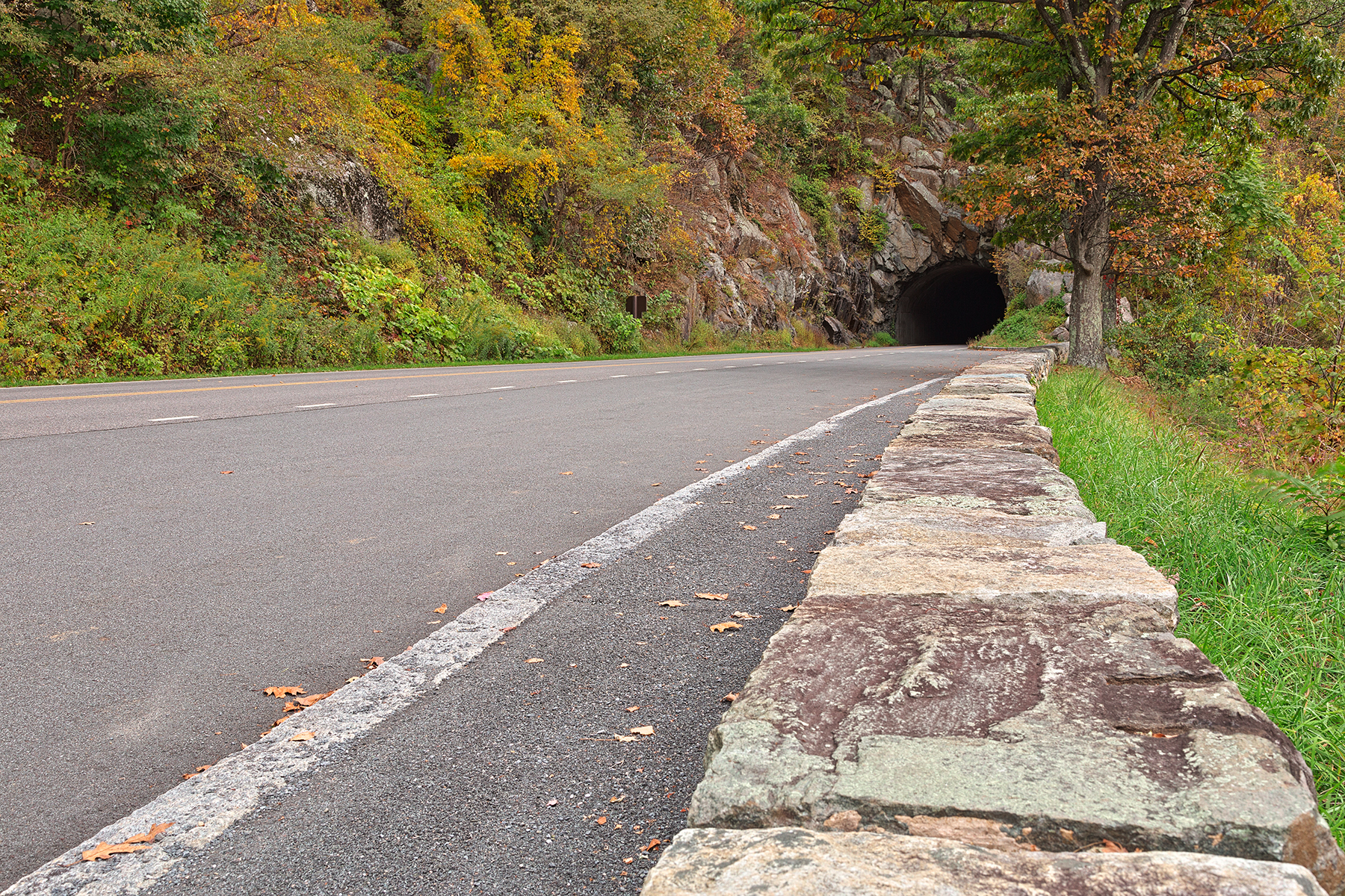 Skyline tunnel drive - hdr photo