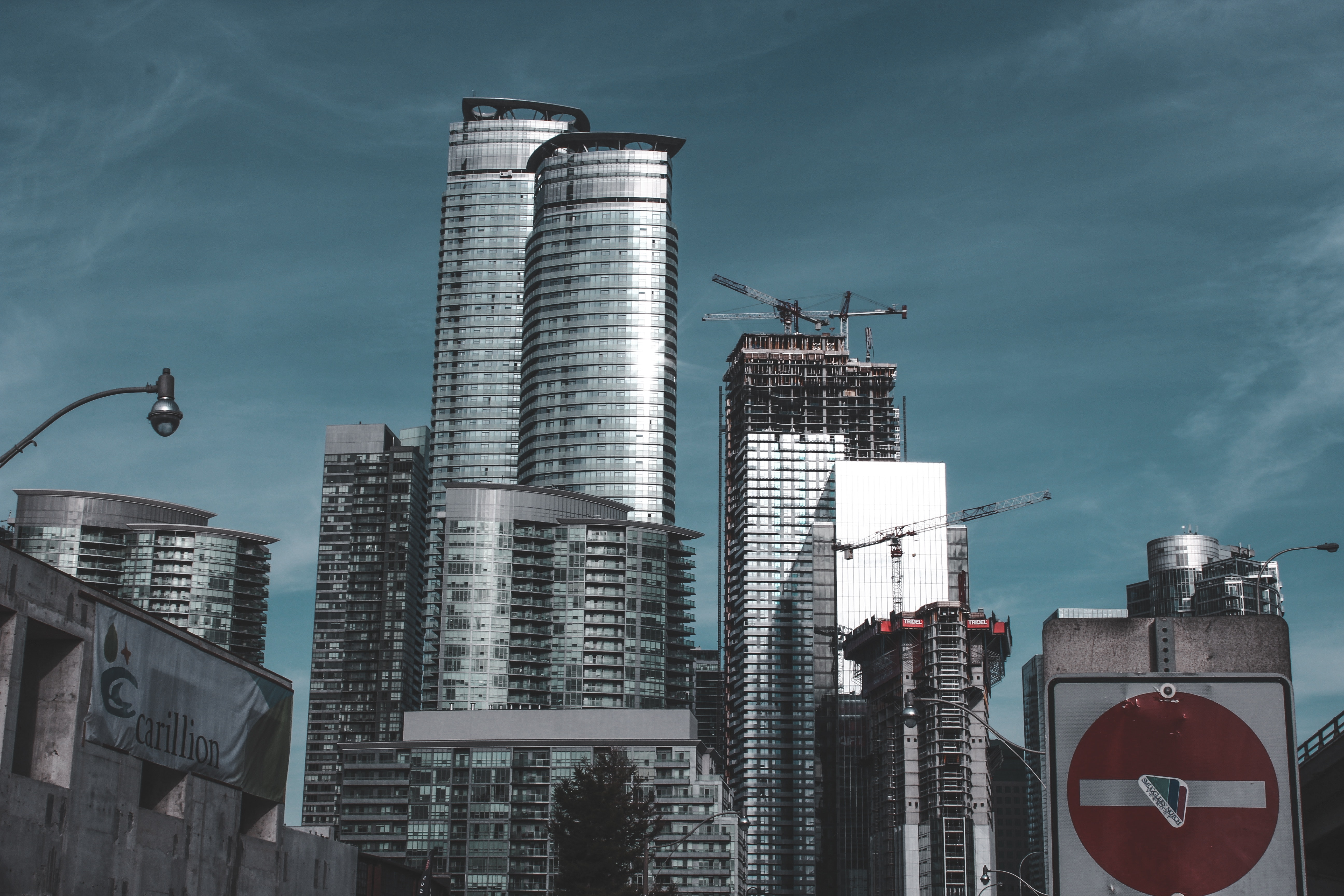 Skyscrapers at Daytime, Pollution, Urban, Tower, Tall, HQ Photo