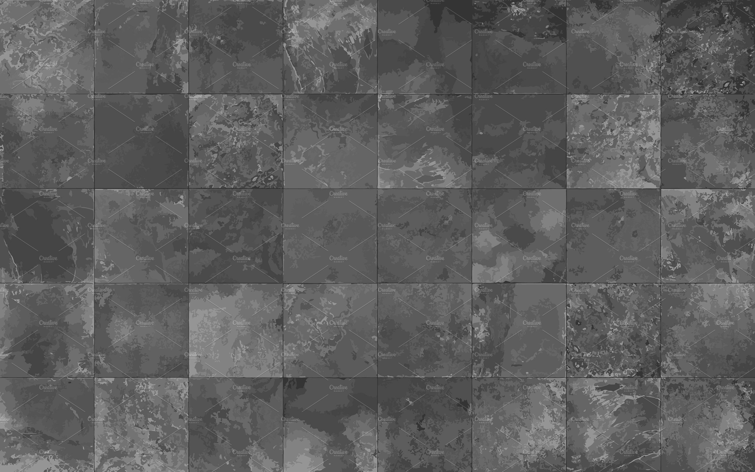 Slate tile seamless texture, vector ~ Textures ~ Creative Market