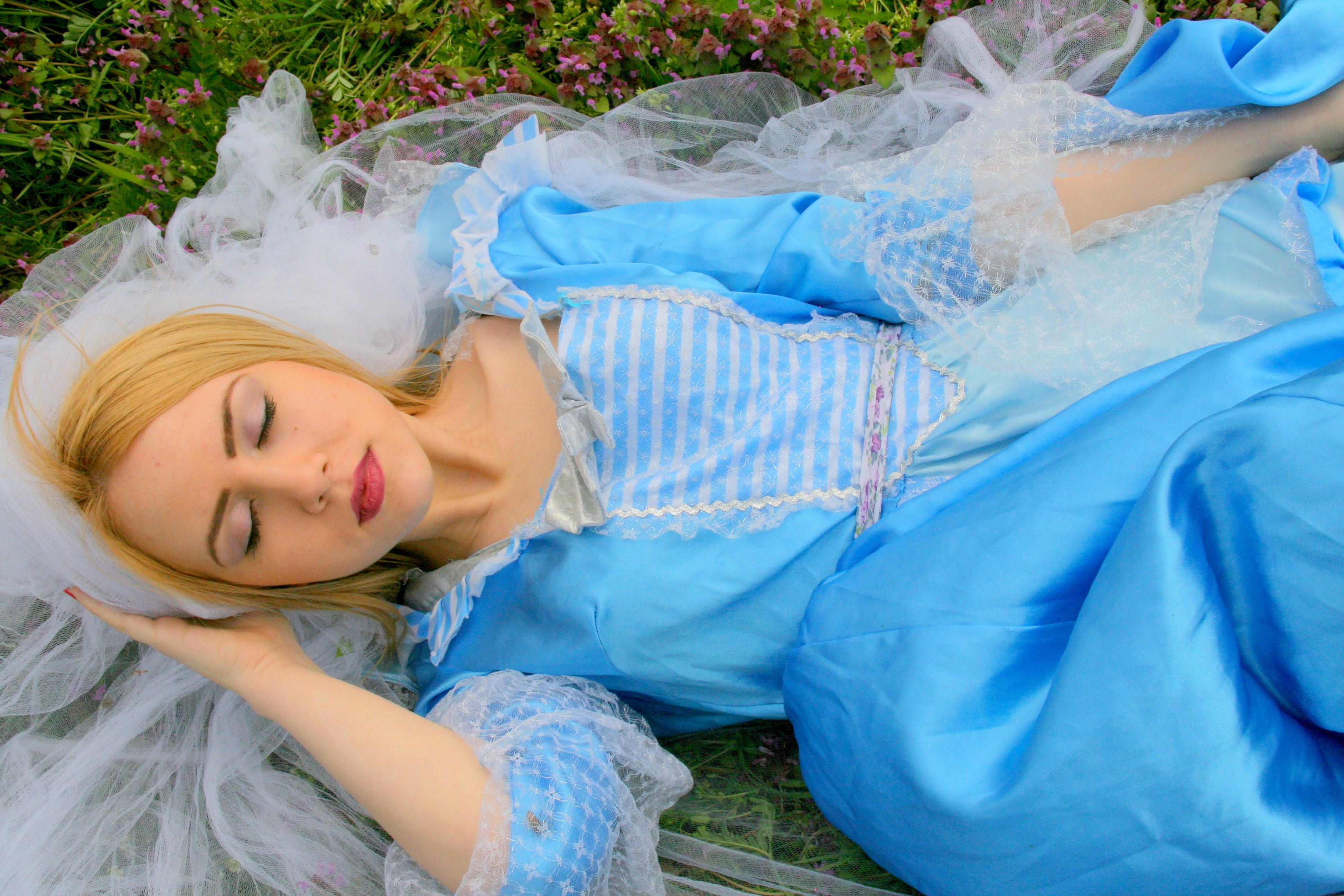 Sleeping Beauty, Activity, Blue, Girl, Human, HQ Photo