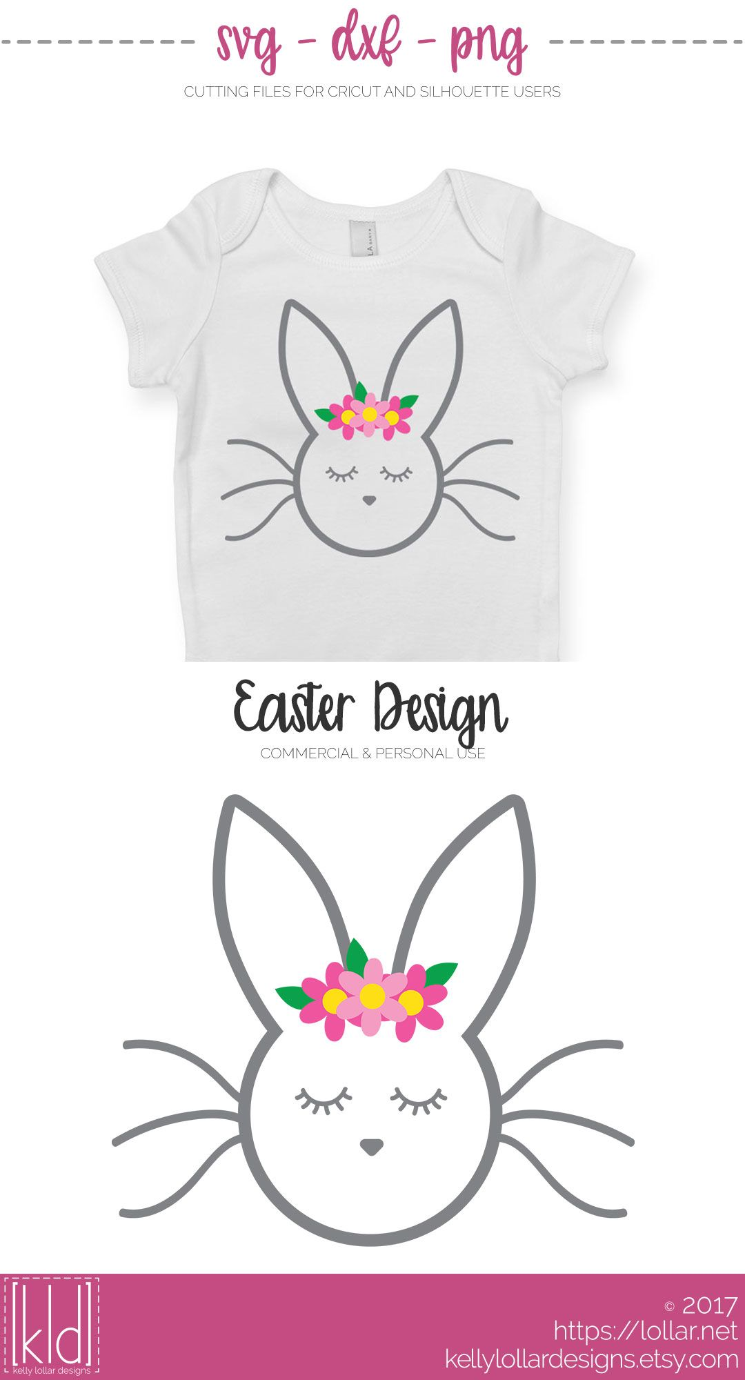 Sweet sleepy Easter Bunny svg file - Free for Personal Use by Kelly ...