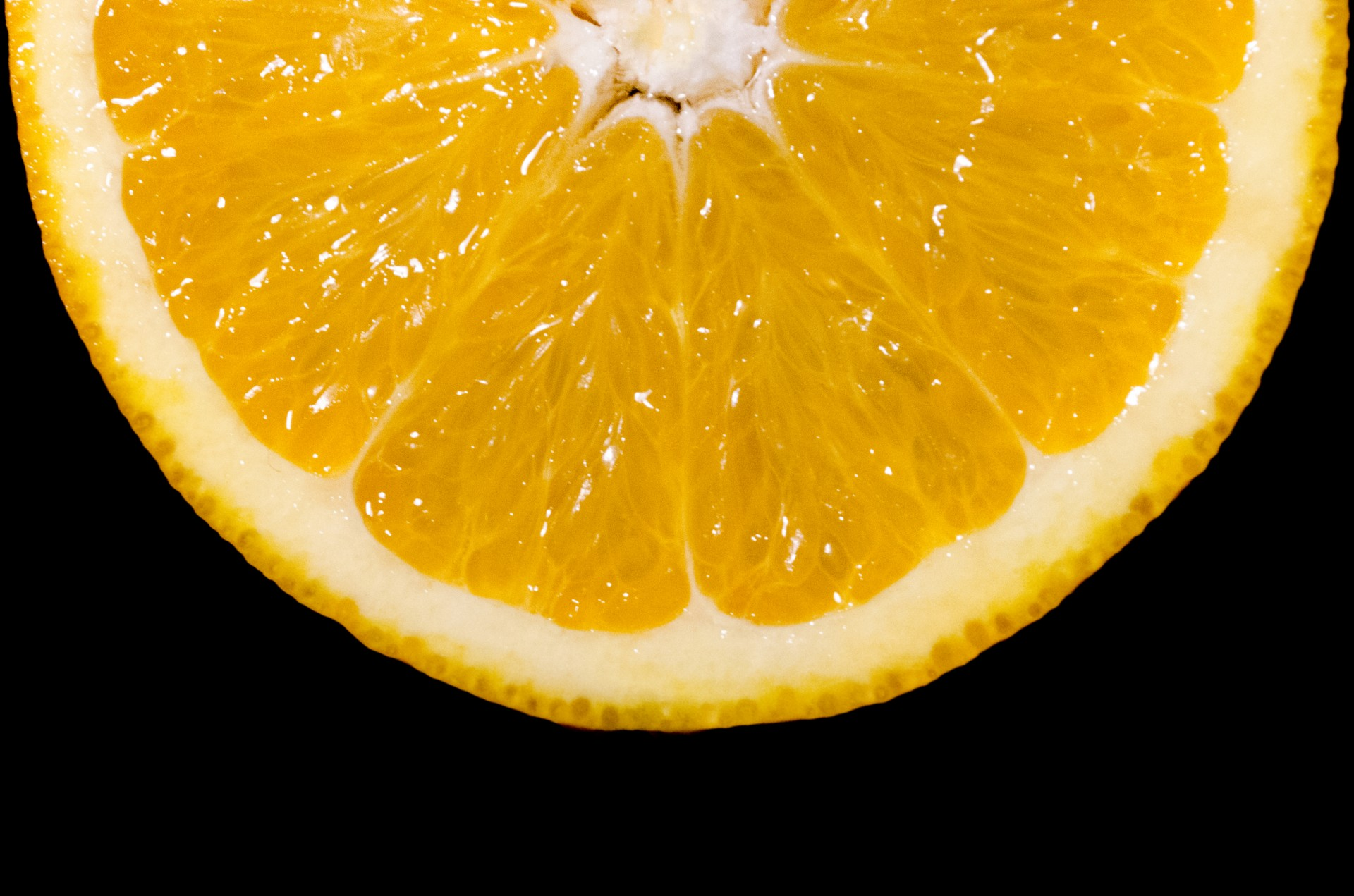 Slice Of Orange Fruit Free Stock Photo - Public Domain Pictures