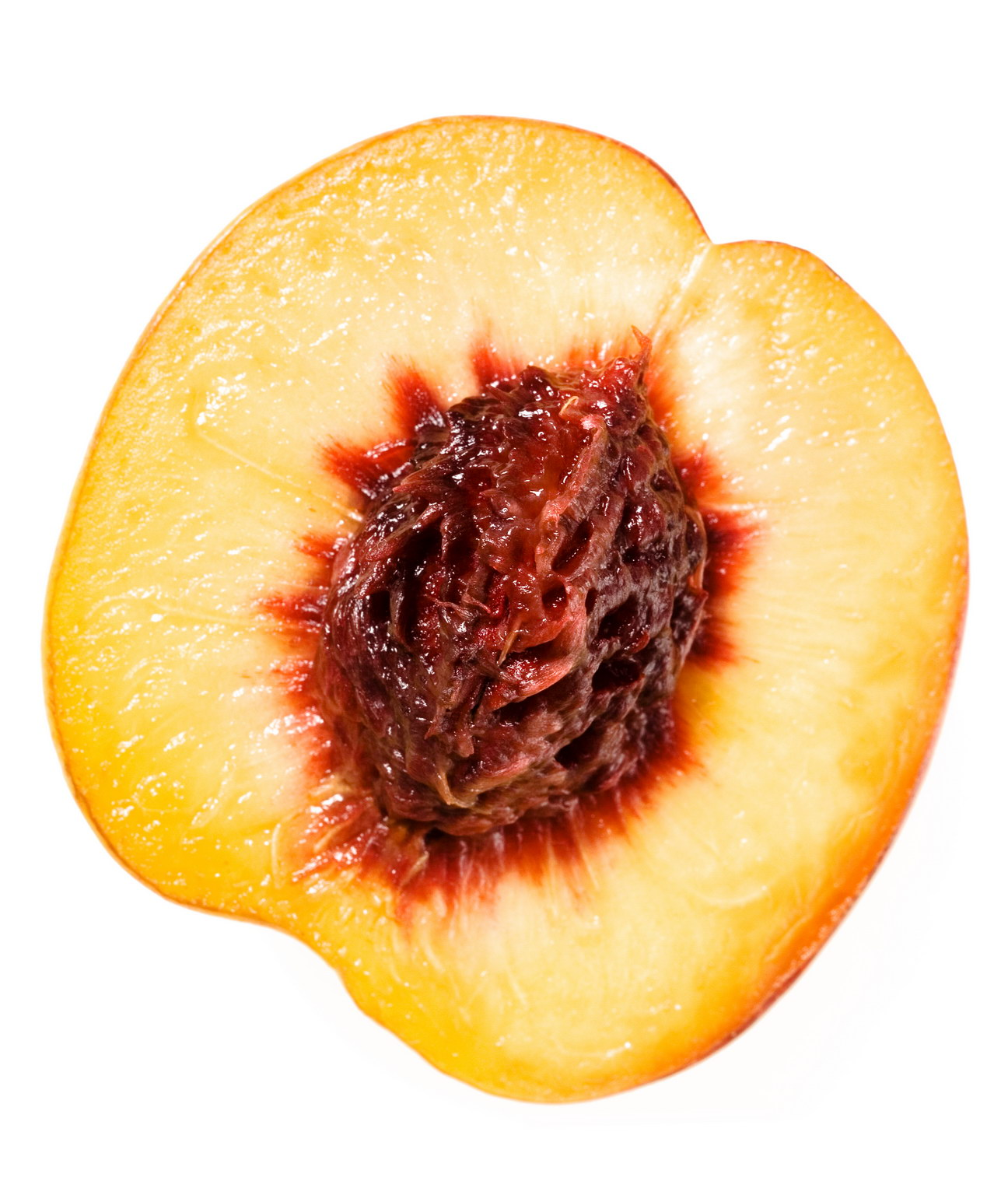 sliced peach, Yellow, Sliced, Raw, Red, HQ Photo