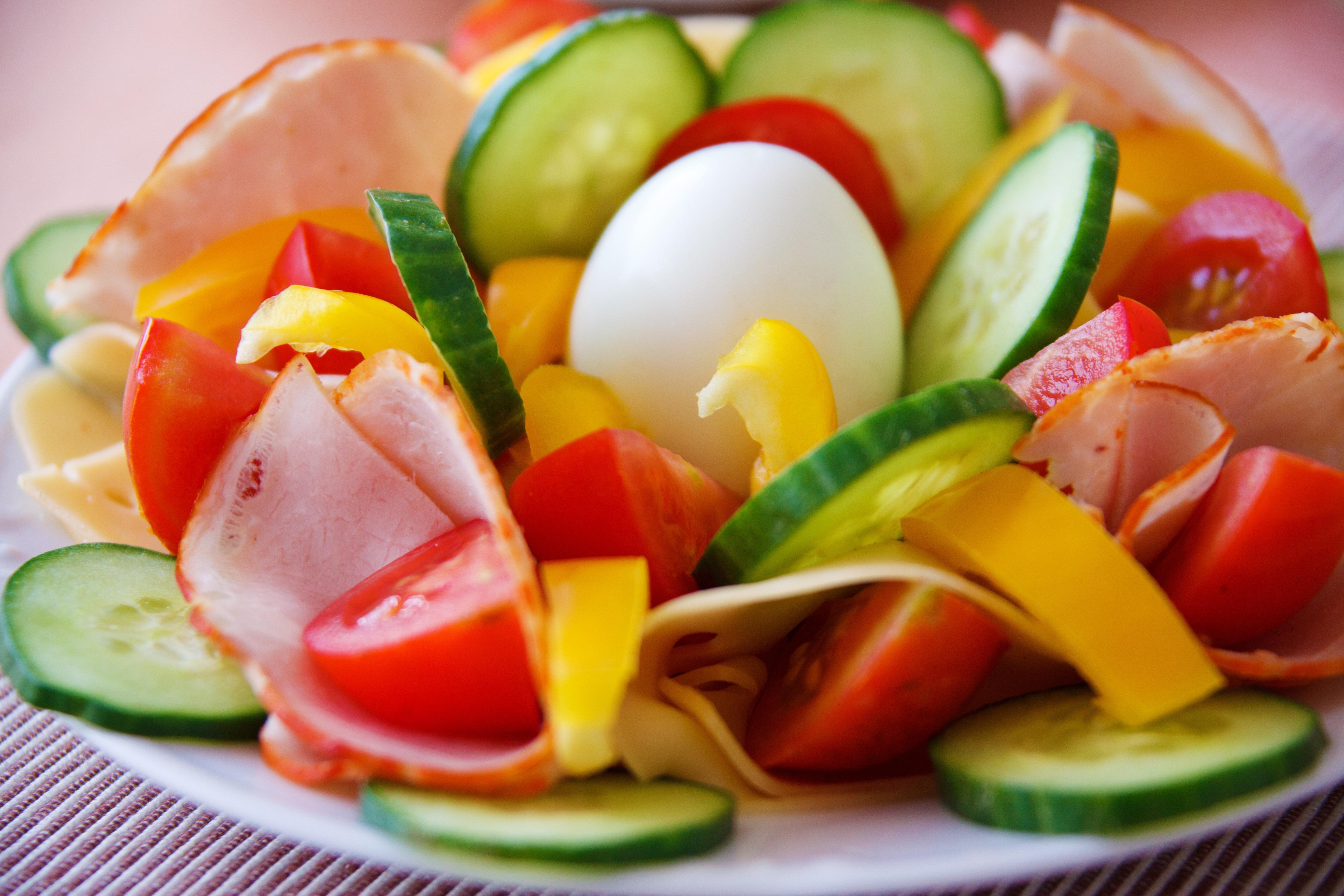 Sliced vegetable photo