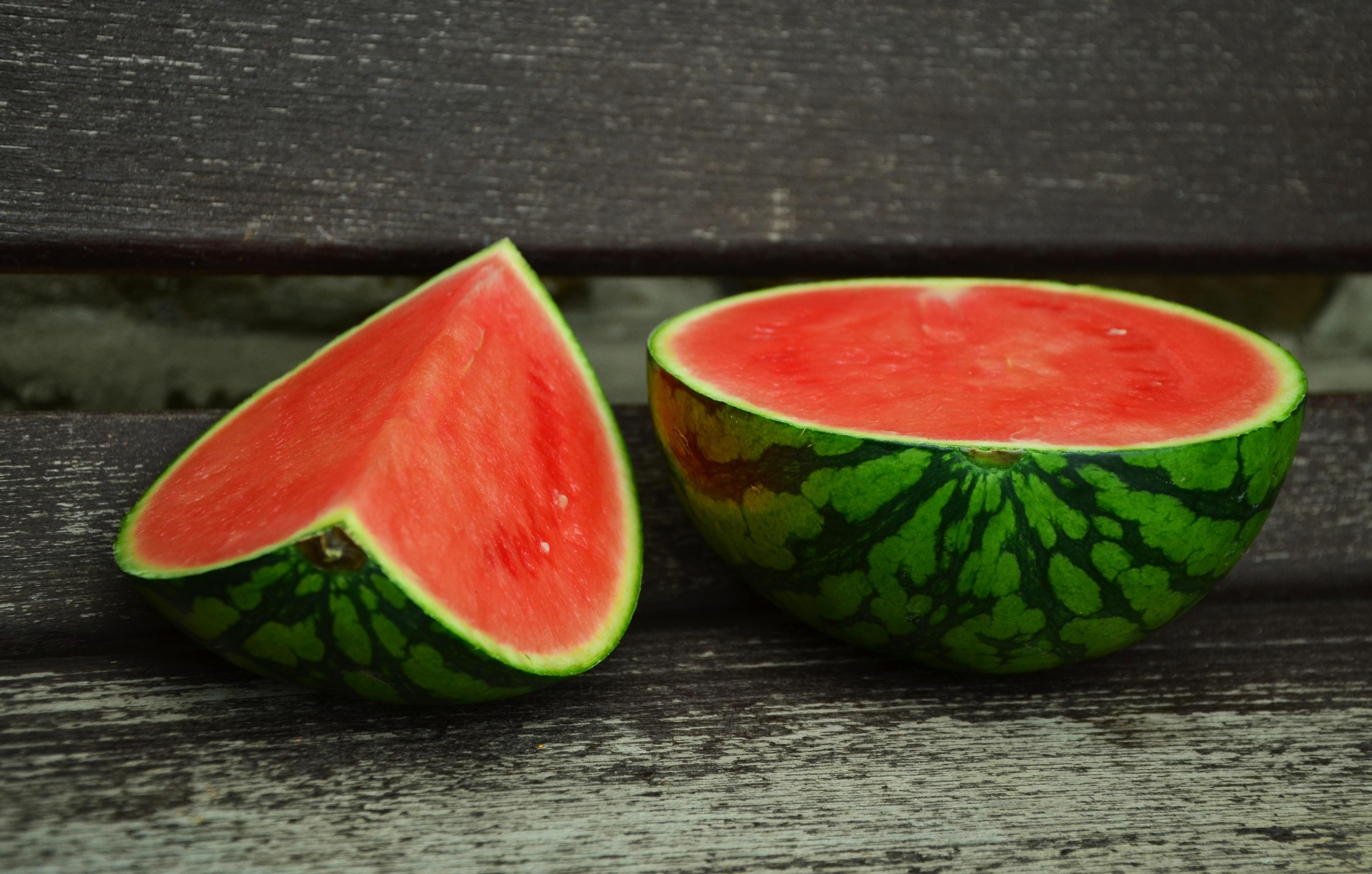 Sliced watermelon photo