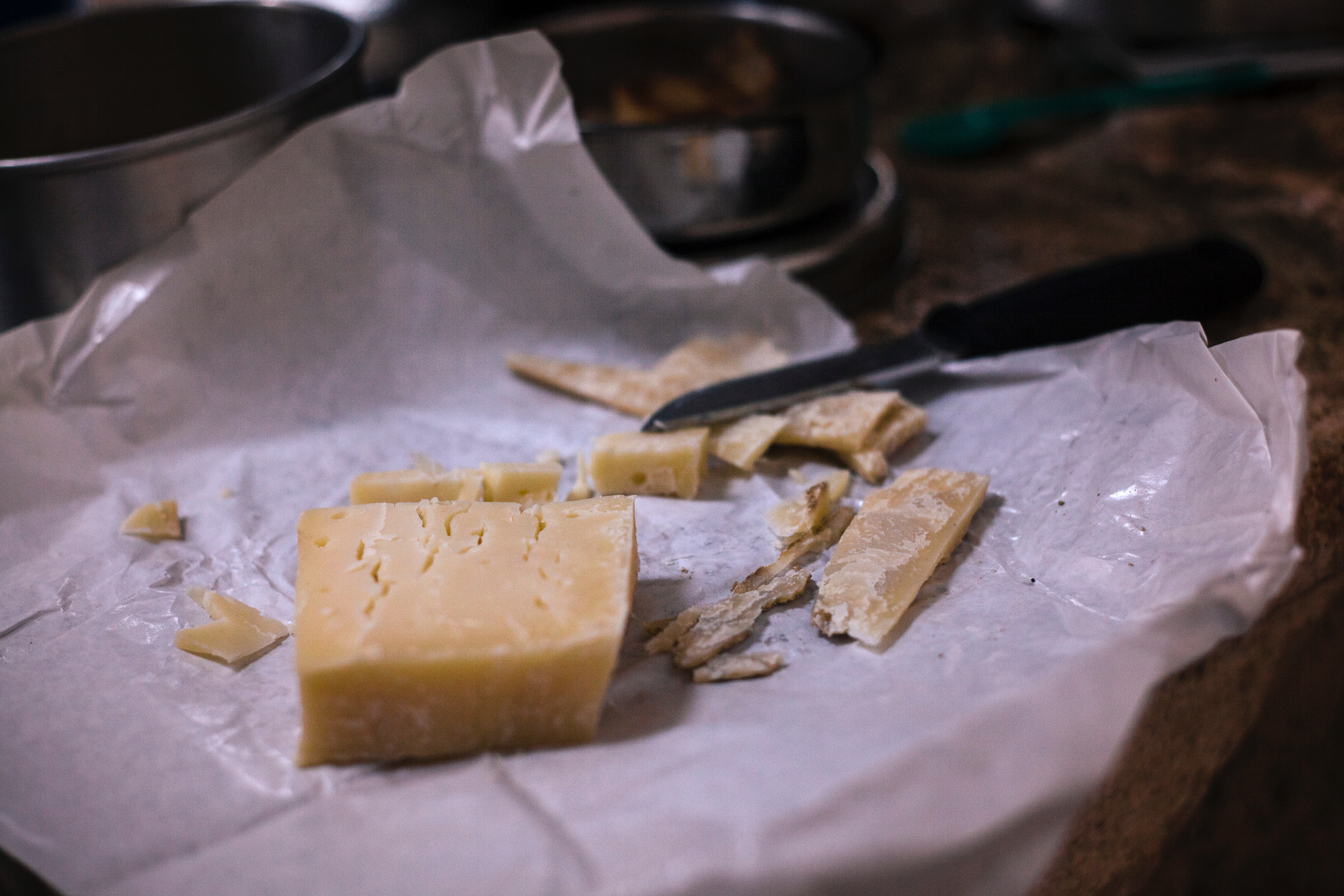 Sliced Yellow Cheese, Cheese, Close-up, Dairy product, Delicious, HQ Photo