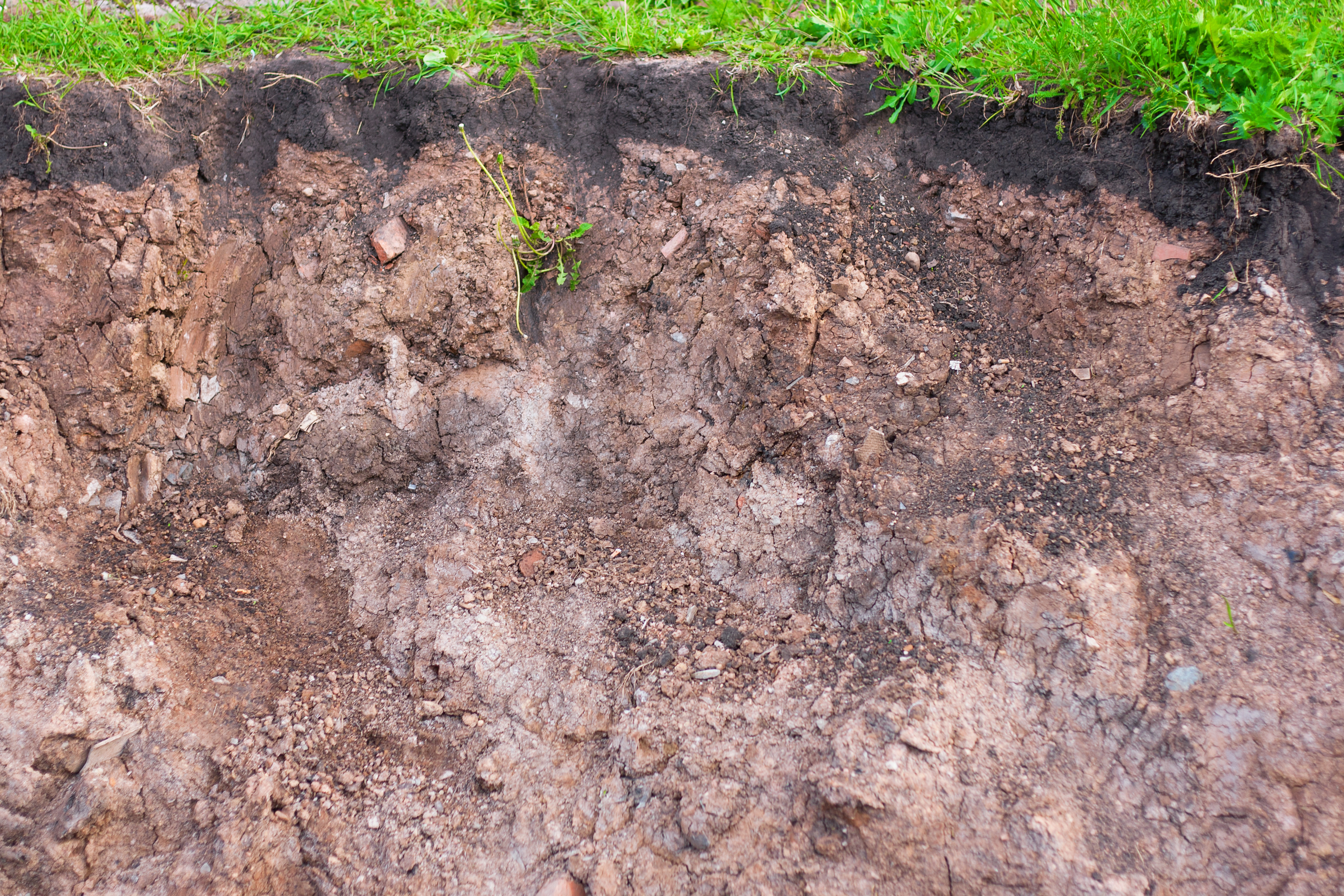slit of ground, Angle, Light, Stratum, Soil, HQ Photo