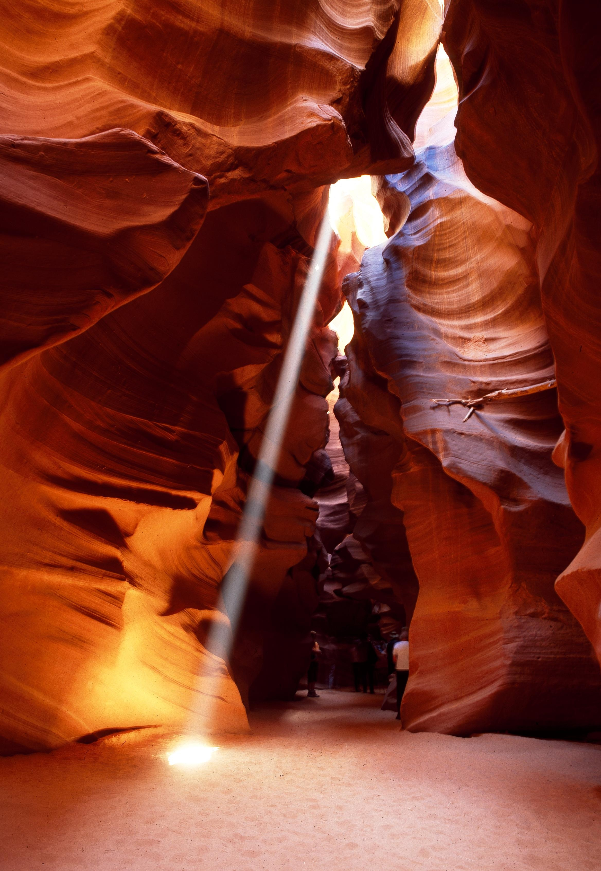 Slot canyon photo