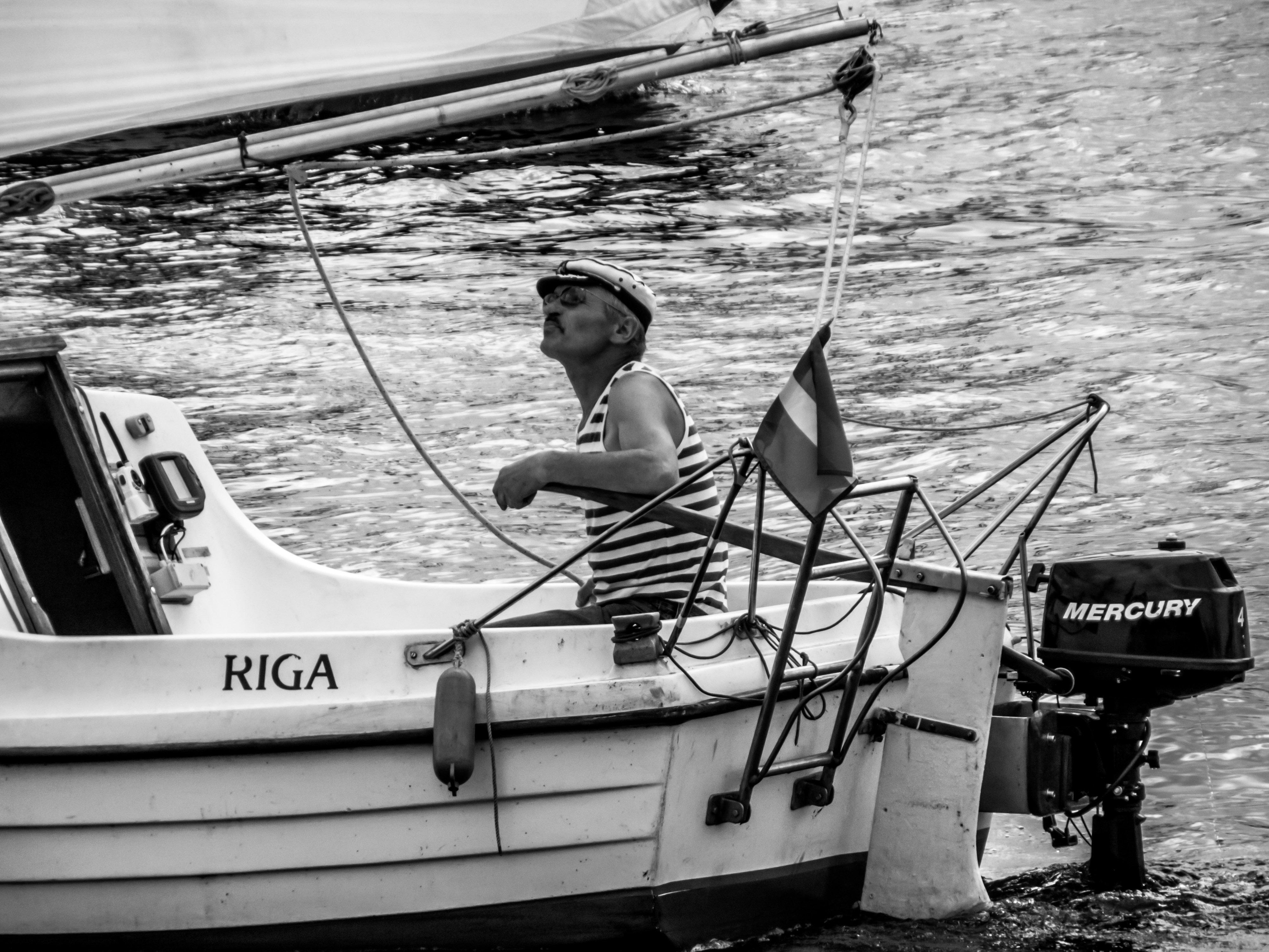 Small boat captain photo